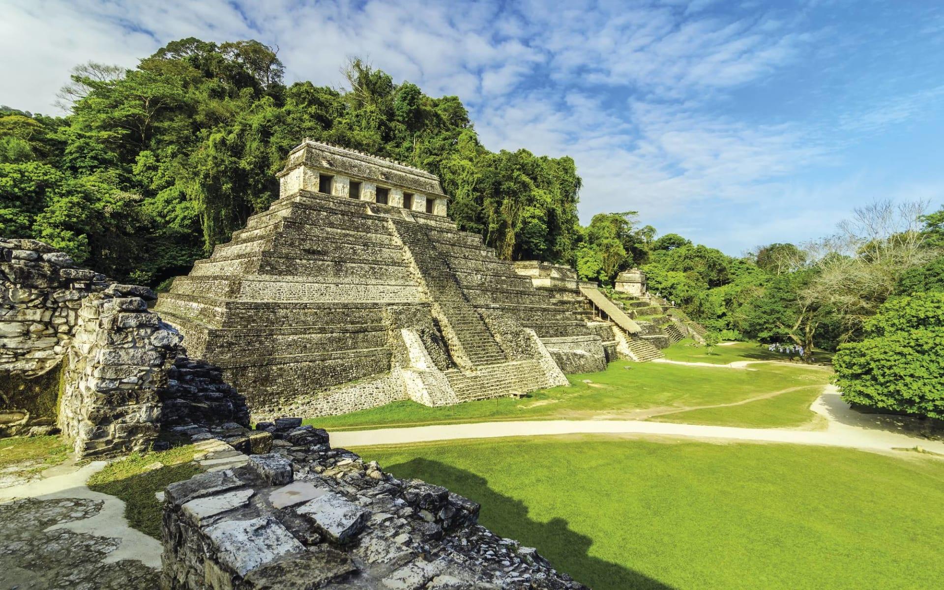 Gruppenreise Das Erbe der Maya ab Cancun: Mexiko - Palenque - Maya Tempel