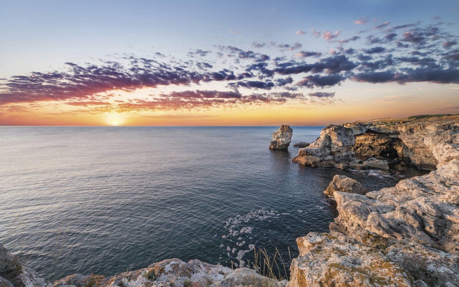 Premium: Dreams Yucatán ab Cancun: Mexiko - Yucatan - Bucht bei Cancun während dem Sonnenuntergang