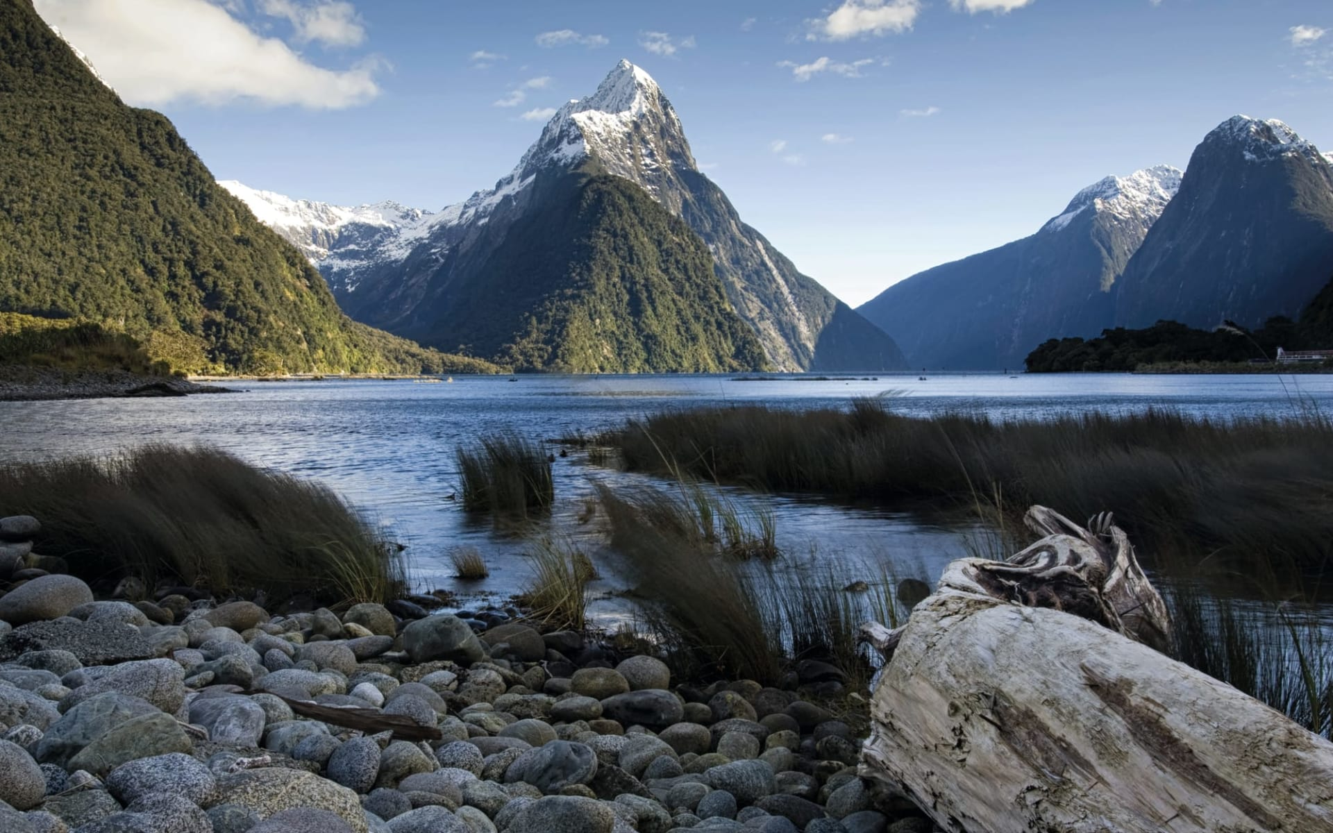 Milford Sound Overnight Cruise ab Queenstown: Mitre Peak