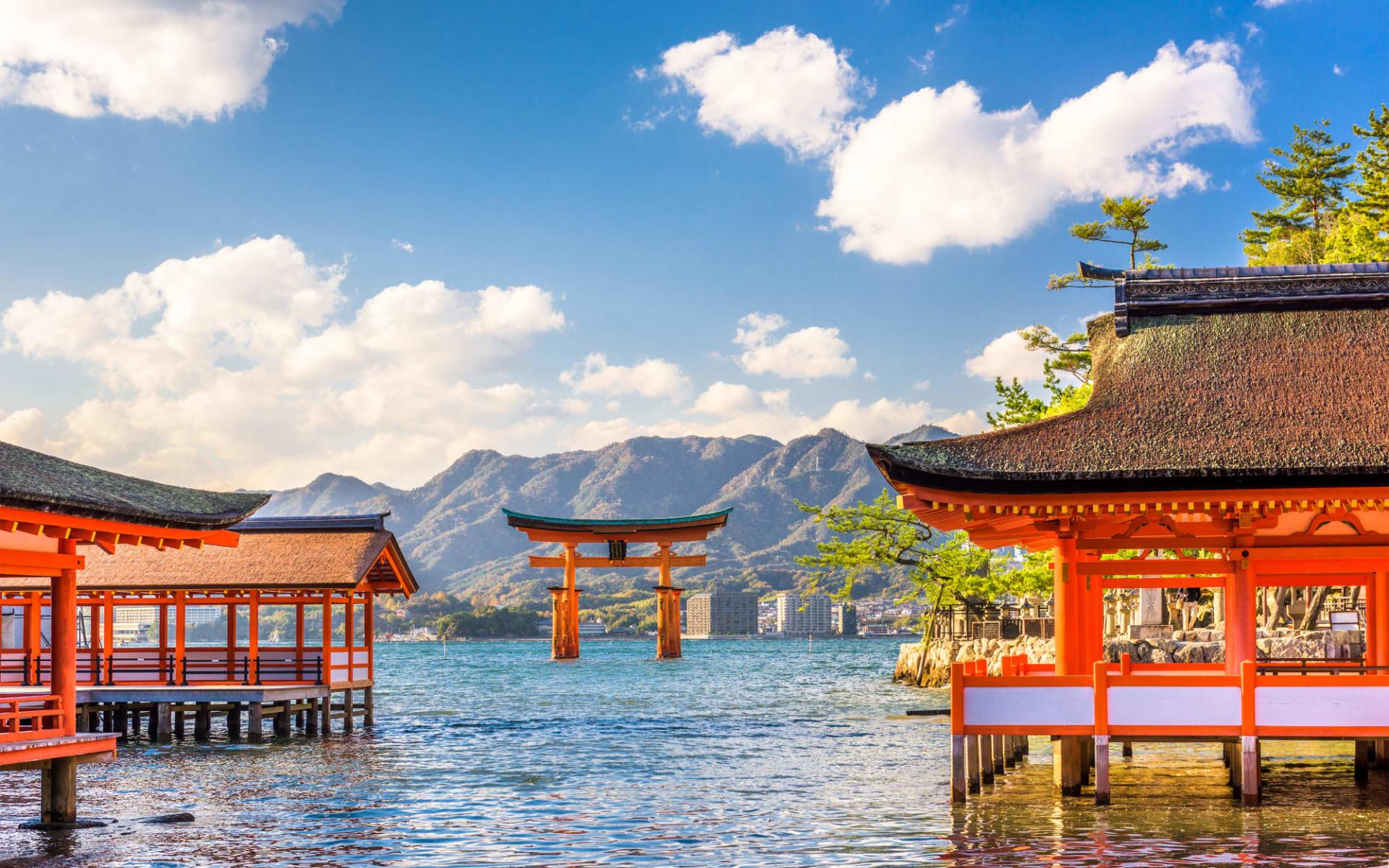 Japan auf neuen Wegen ab Osaka: Miyajima Shrine