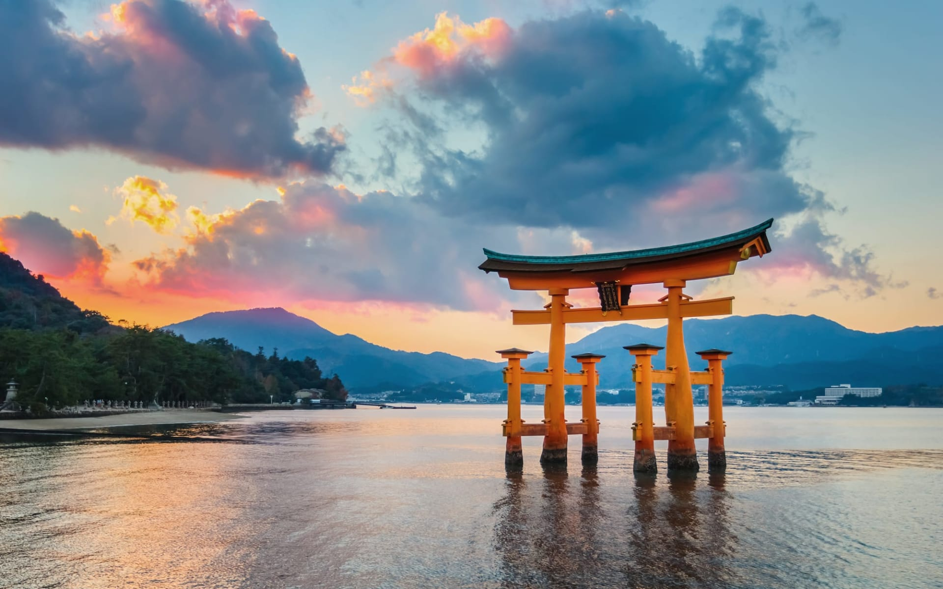Gruppenreise «Fuji» ab Kyoto: Miyajima: Tori Itsukushima Schrein