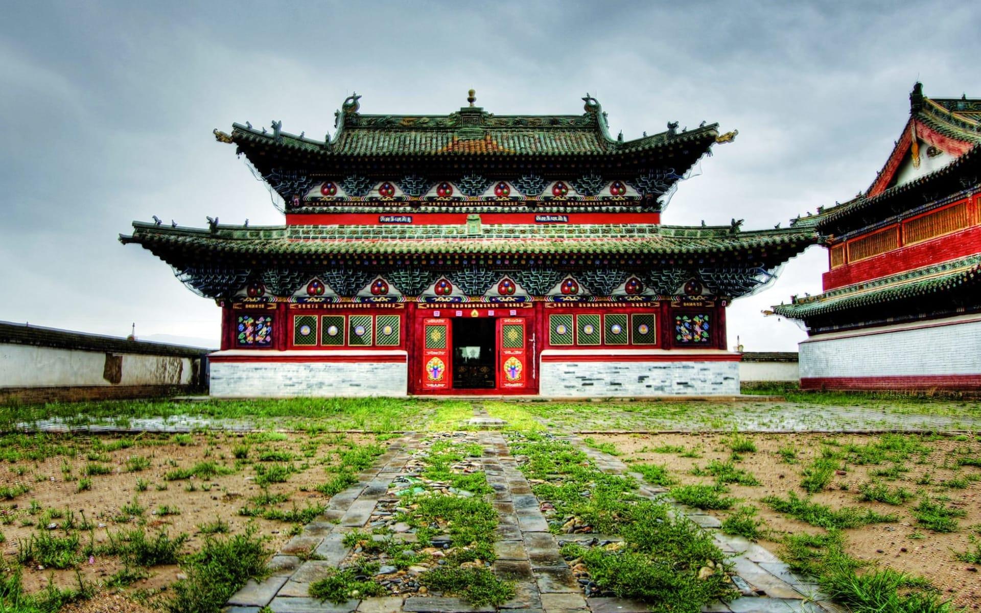 Sonderzug Zarengold von Moskau in die Mongolei - Mongoleirundreise und weiter nach Peking: Mongolei_Karakorum_Kloster_