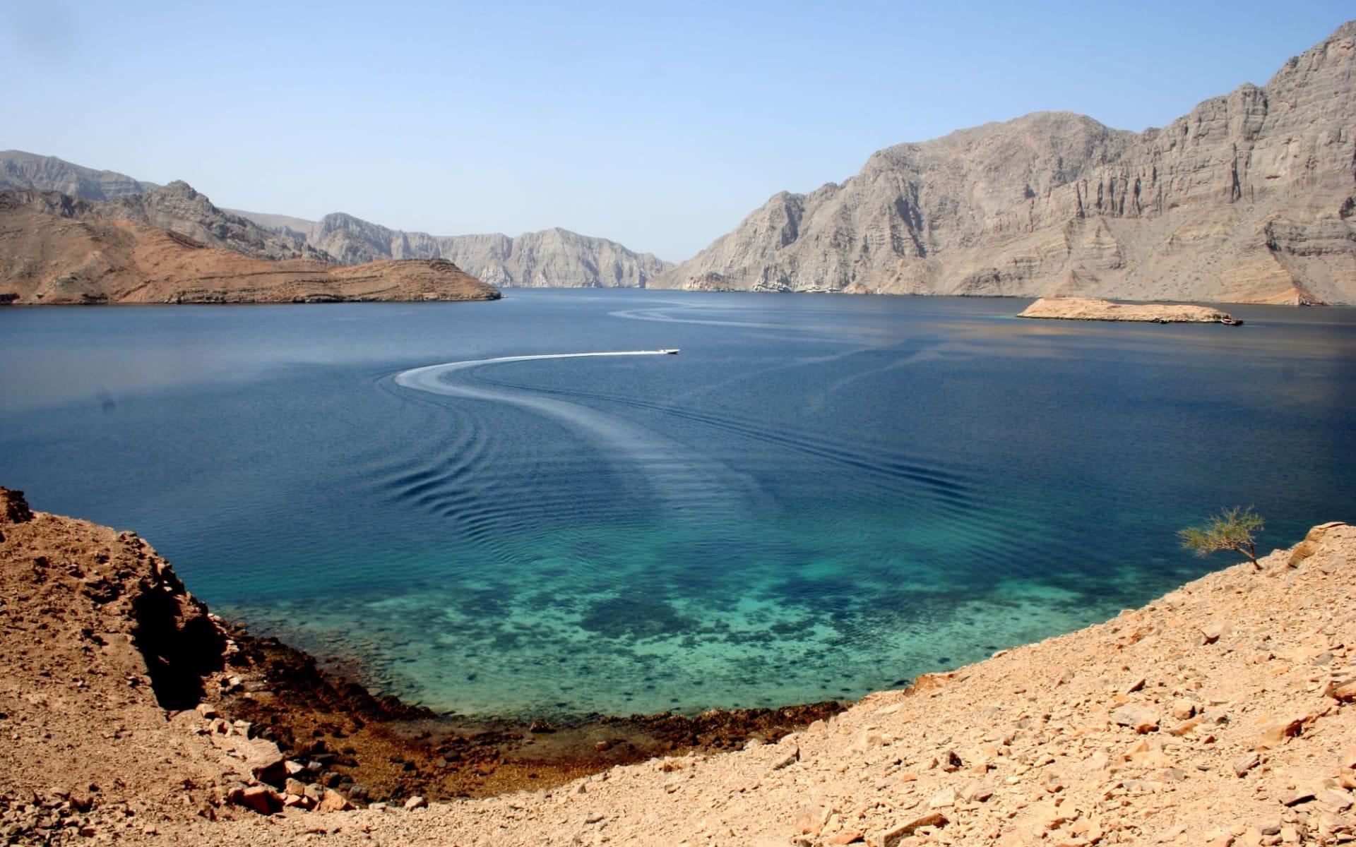 Omanische Exklave Musandam ab Muscat: Musandam - Oman