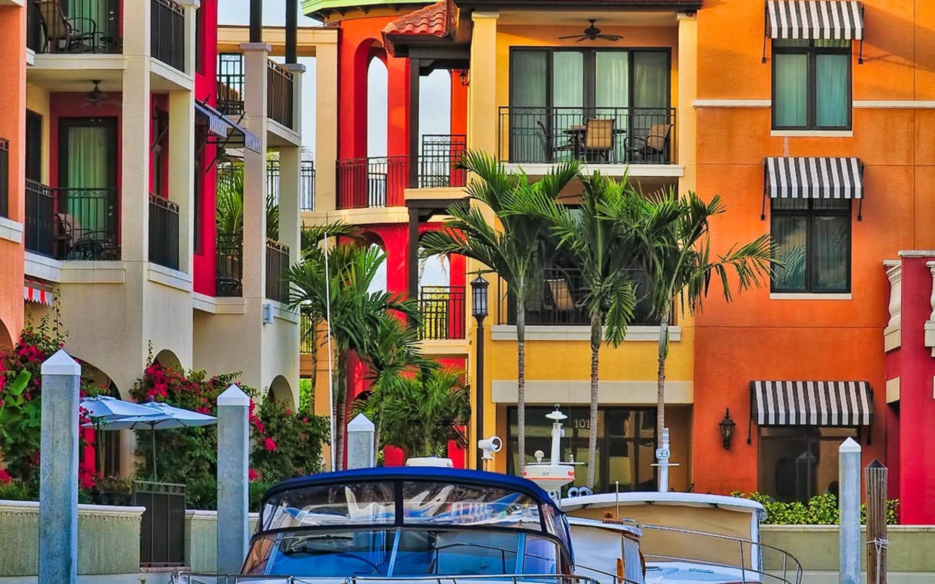 Best of Florida ab Miami: Naples Bay Resort - hotel marina view_rgb_l