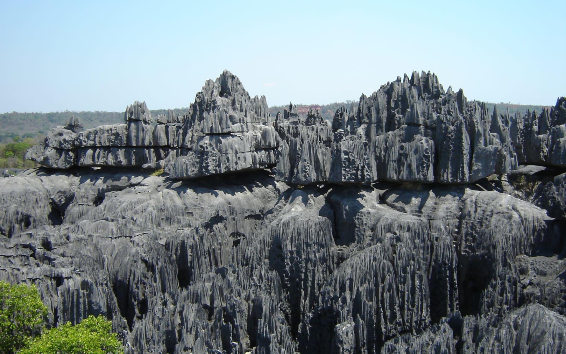 Morondava-Kleine und grosse Tsingys ab Antananarivo: Nationalpark Tsingy de Bemaraha