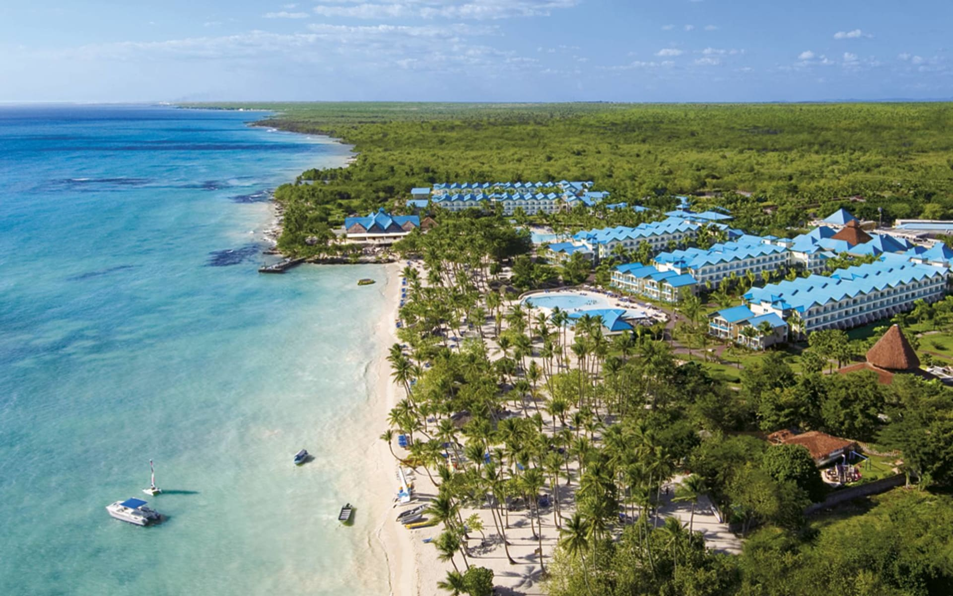 Hilton La Romana Resort in Bayahibe: natur dreams la romana strand meer wald