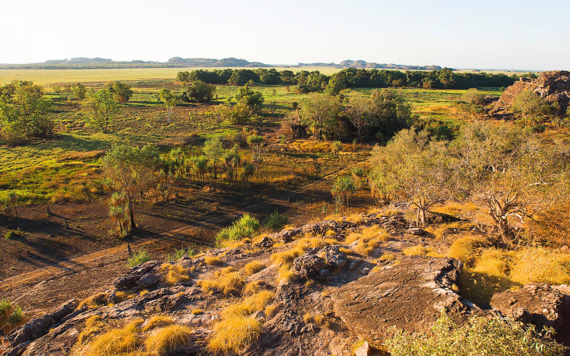 Wildman Wilderness Lodge in Mary River: Natur Kakadu Nationalpark Northern Territory Australien  Mary River Wetlands  c shutterstock_315340151 2017