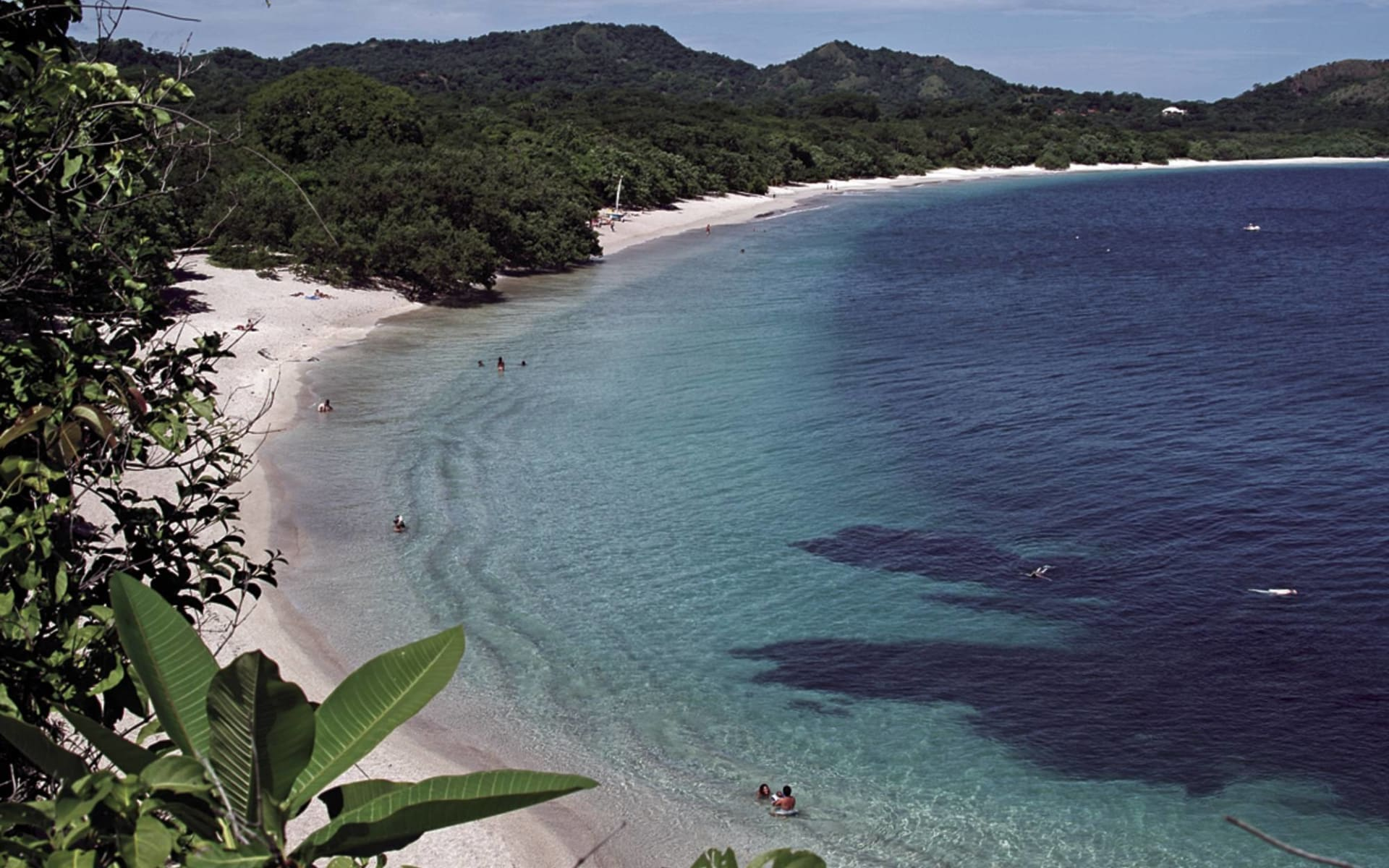Westin Playa Conchal: natur westin strandbucht