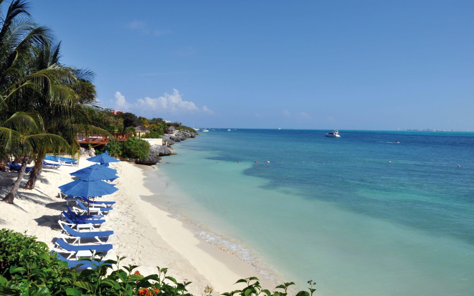 Zoetry Villa Rolandi in Isla Mujeres: natur zoetry villa rolandi strand liegen