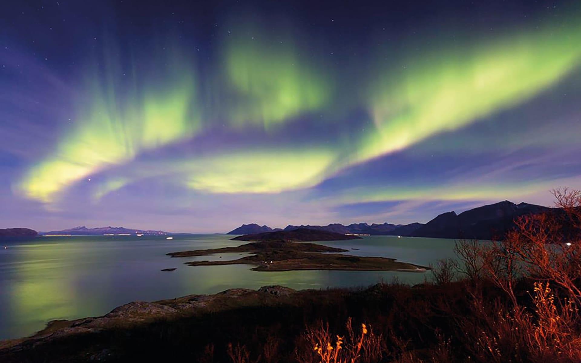 Reif für die Insel ab Tromsö: Nordlichter