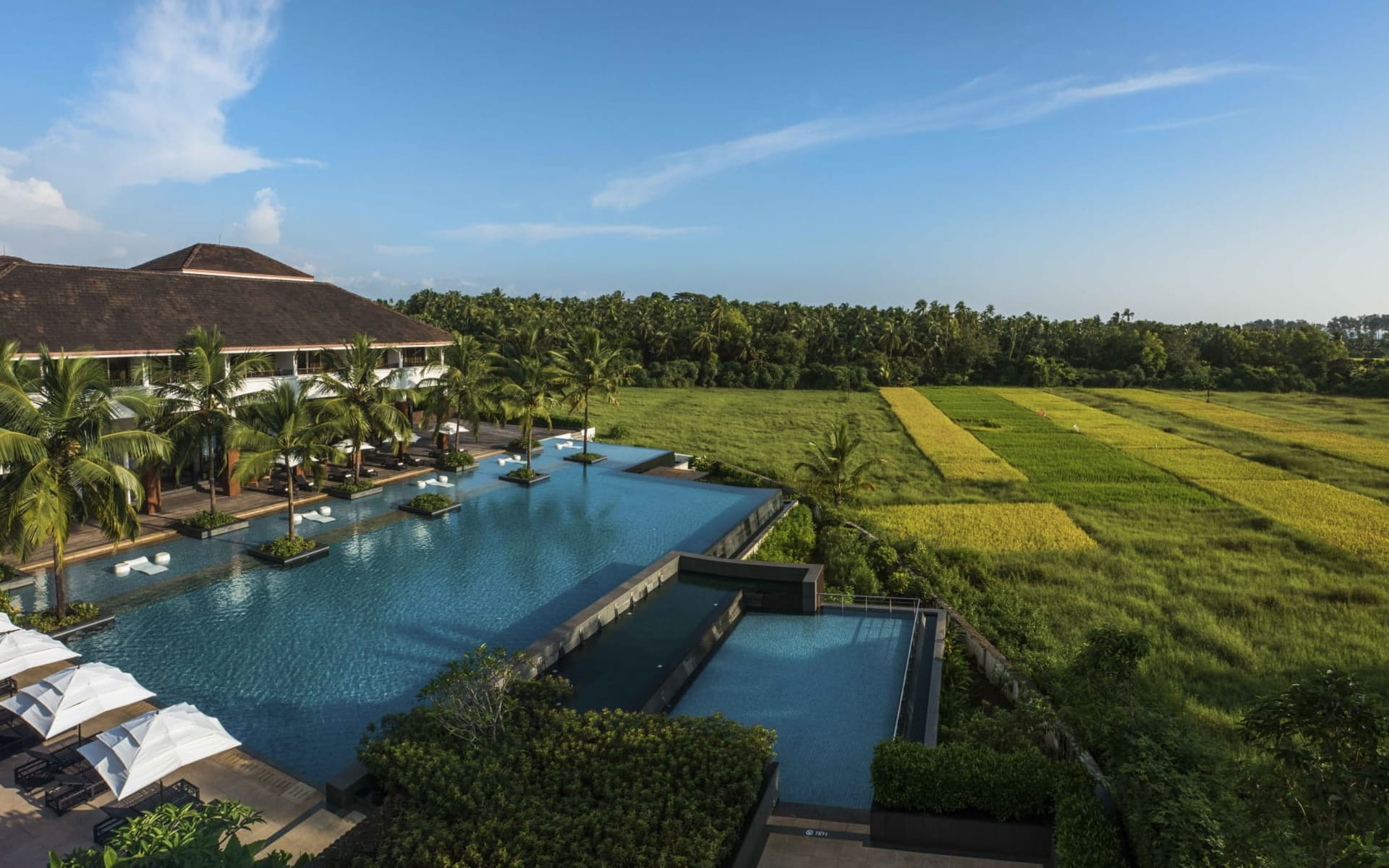 Alila Diwa Goa & The Diwa Club by Alila: Panorama