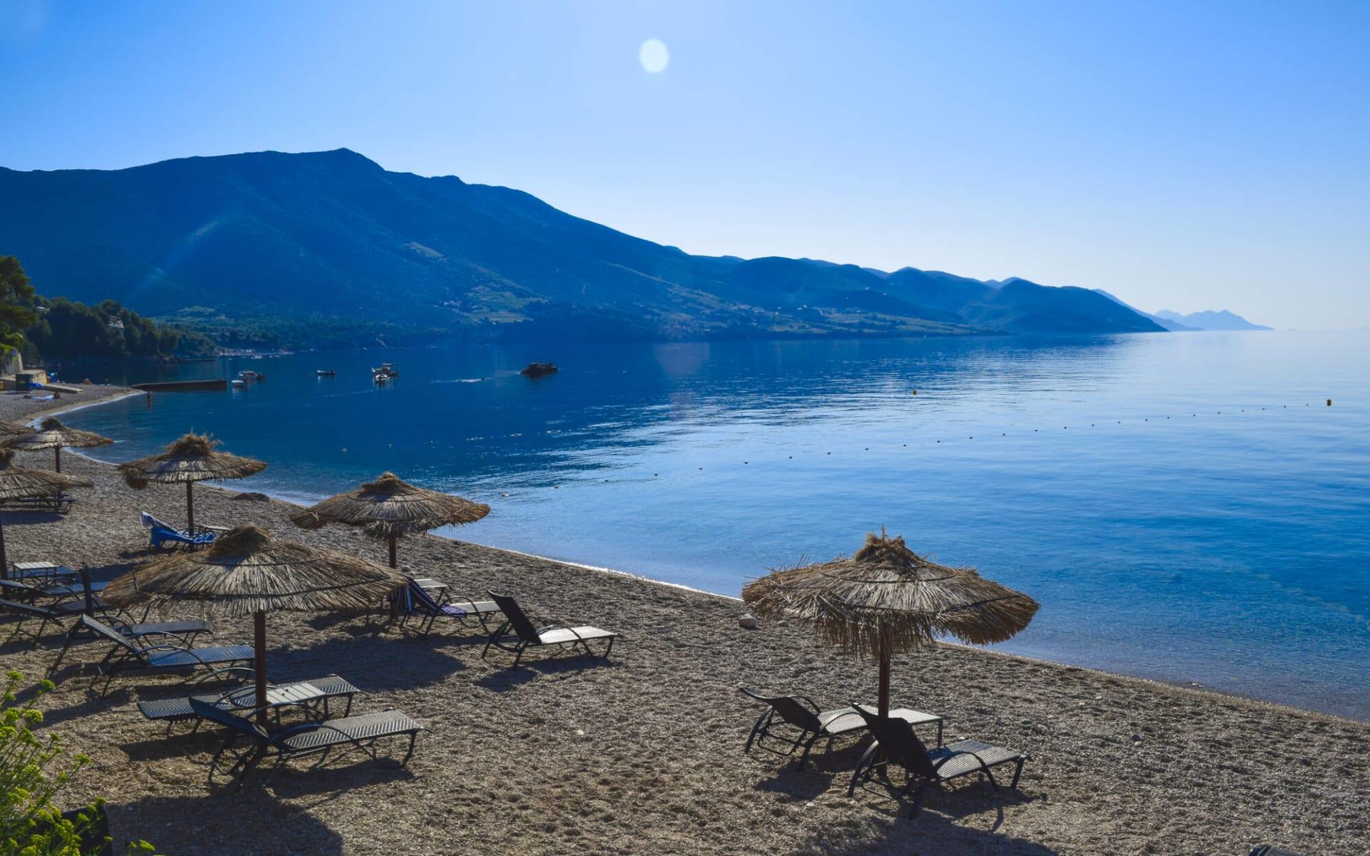 Badeferien im Aminess Grand Azur Hotel ab Orebic: Orebic Beach Kroatien
