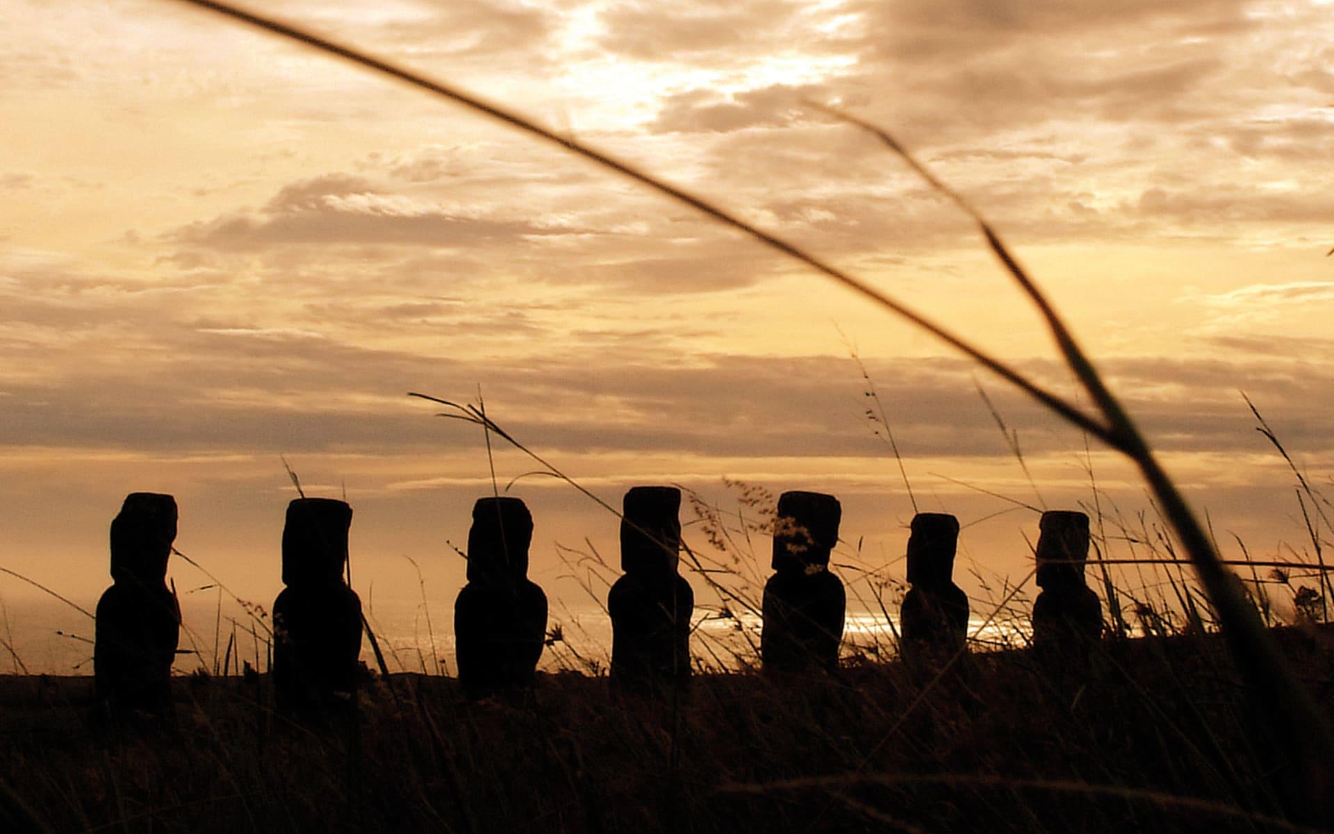 Zubucherreise Osterinsel - Ahus und Moaiis ab Hanga Roa: Osterinsel
