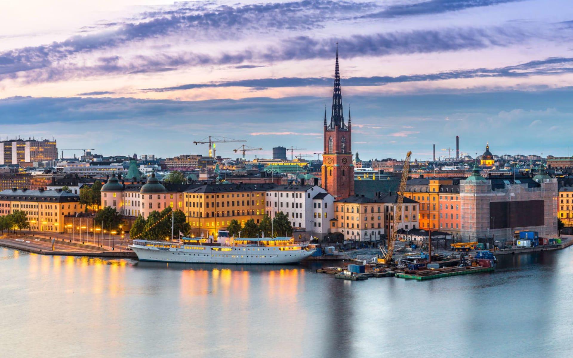 Hotel Clarion Sign in Stockholm: Panoramasicht auf die Altstadt (Gamla Stan) in Stockholm