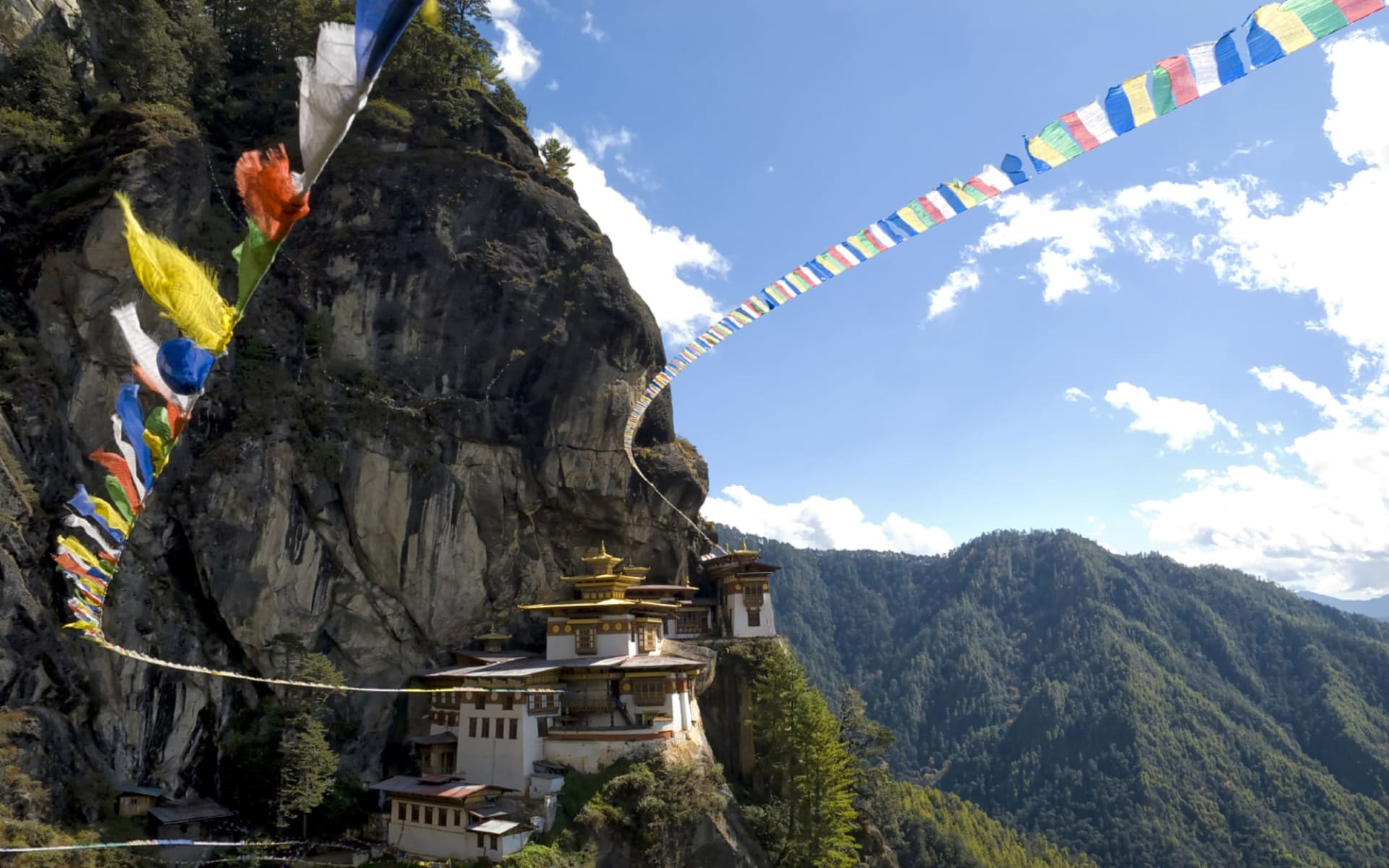 Himalaya Reise für Entdecker ab Bagdogra: Paro Tigers Nest Monastery
