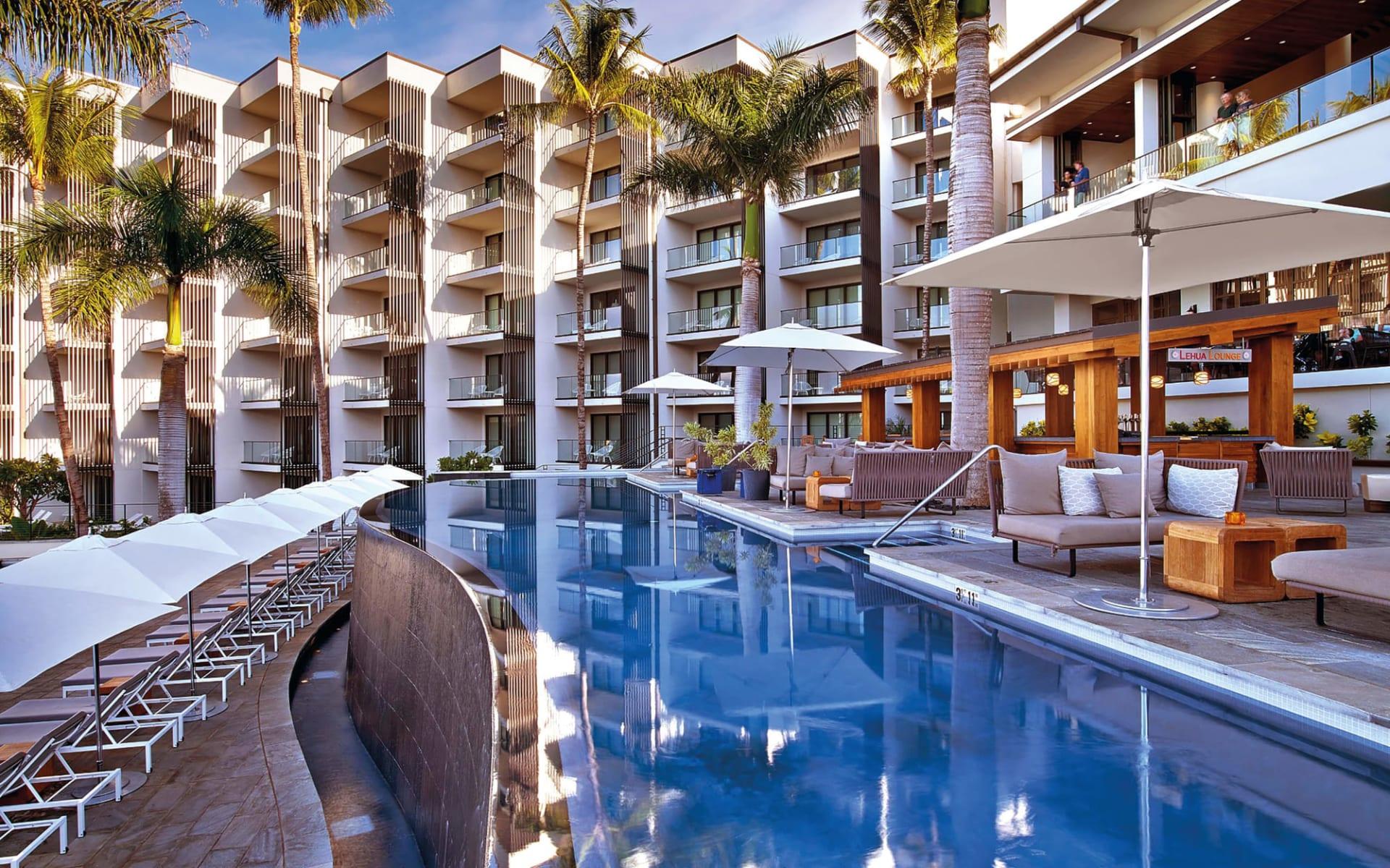 Andaz Maui at Wailea Resort in Wailea - Maui: Andaz Maui at Wailea Resort - Aussenpool