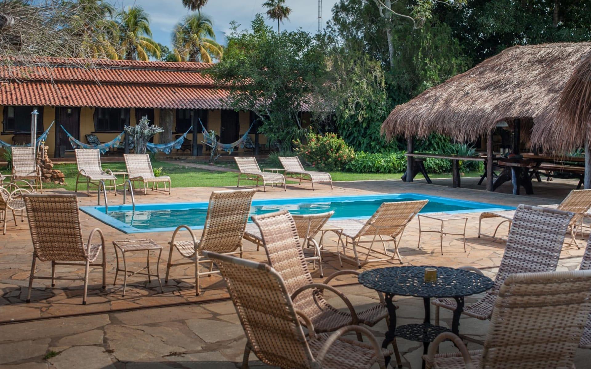 Araras Lodge ab Cuiabá: pool: Araras Pantanal EcoLodge - The Lodge