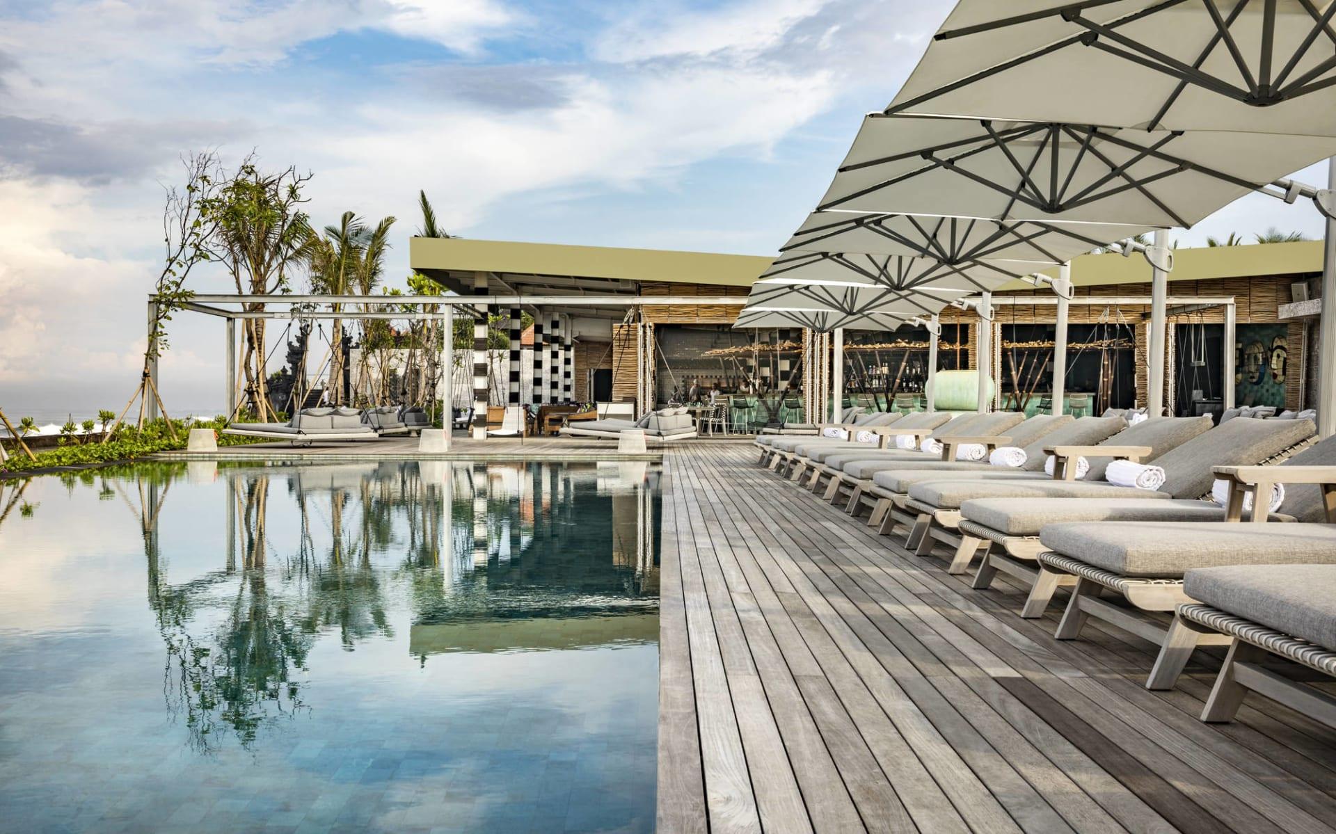 COMO Uma Canggu in Südbali: Beach Club - Pool Area