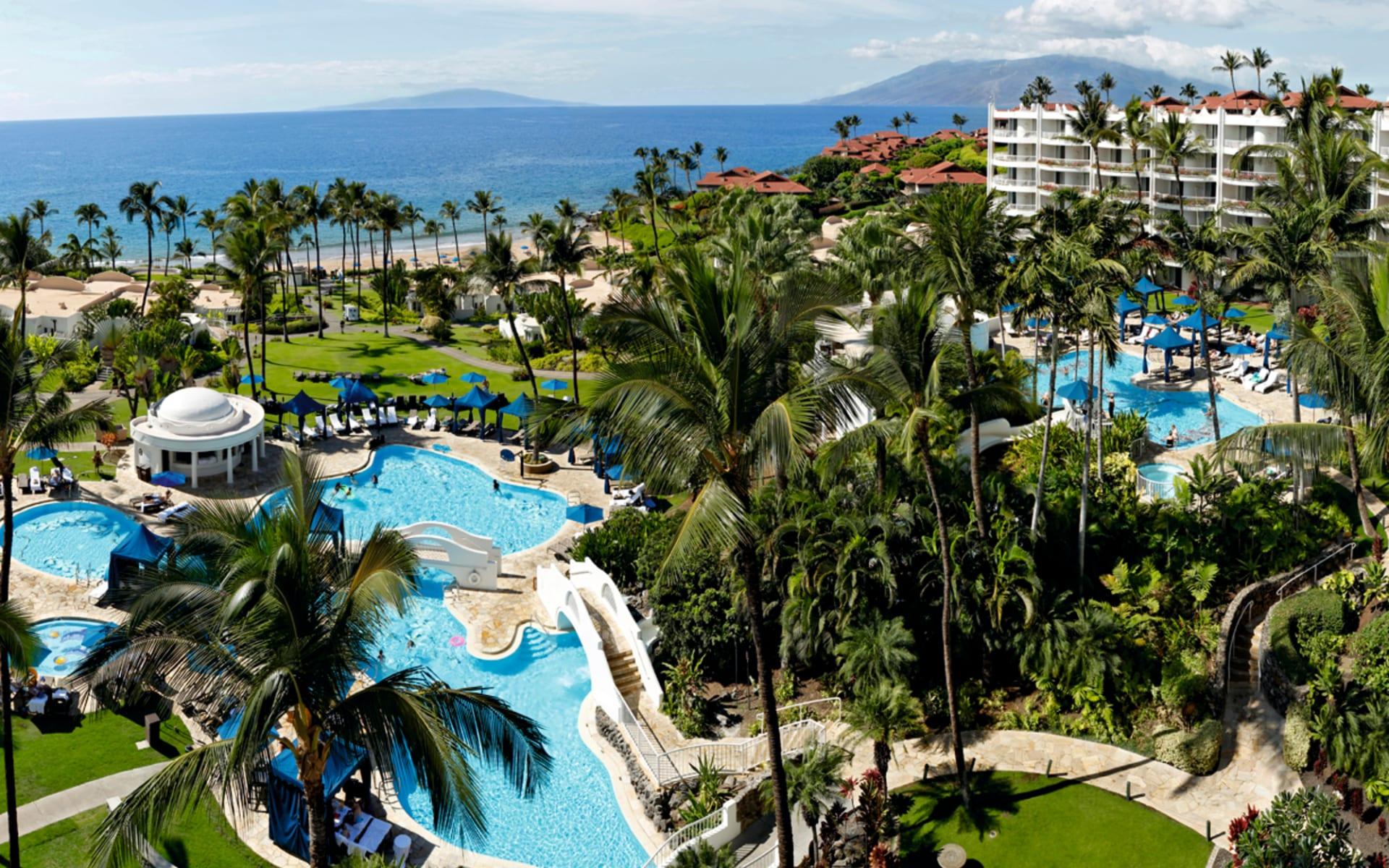 Fairmont Kea Lani Maui in Wailea - Maui: pool fairmont kea lani maui poolanlage garten hotel