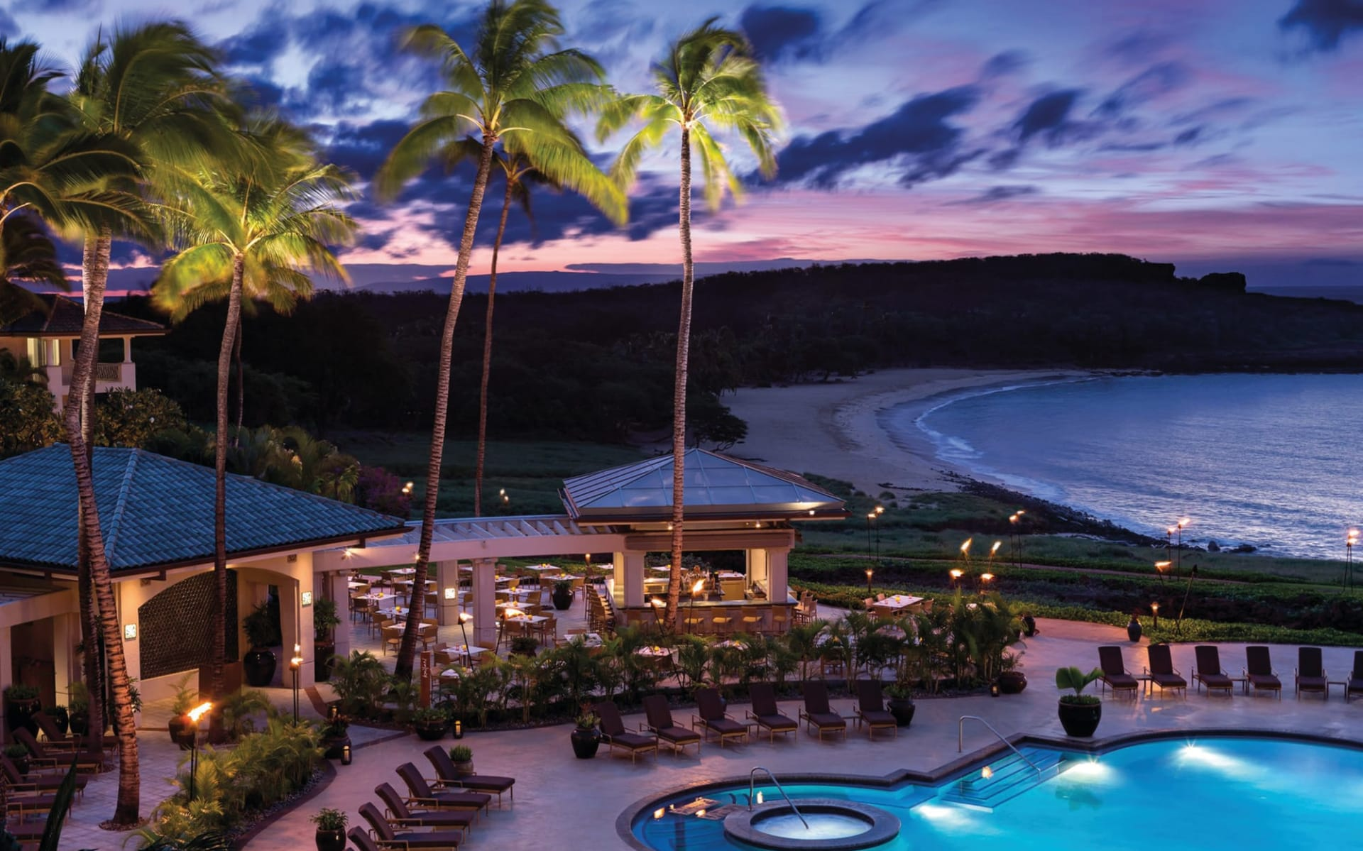 Four Seasons Lanai Resort: Four Seasons Lanai Resort - Pool Aussenansicht