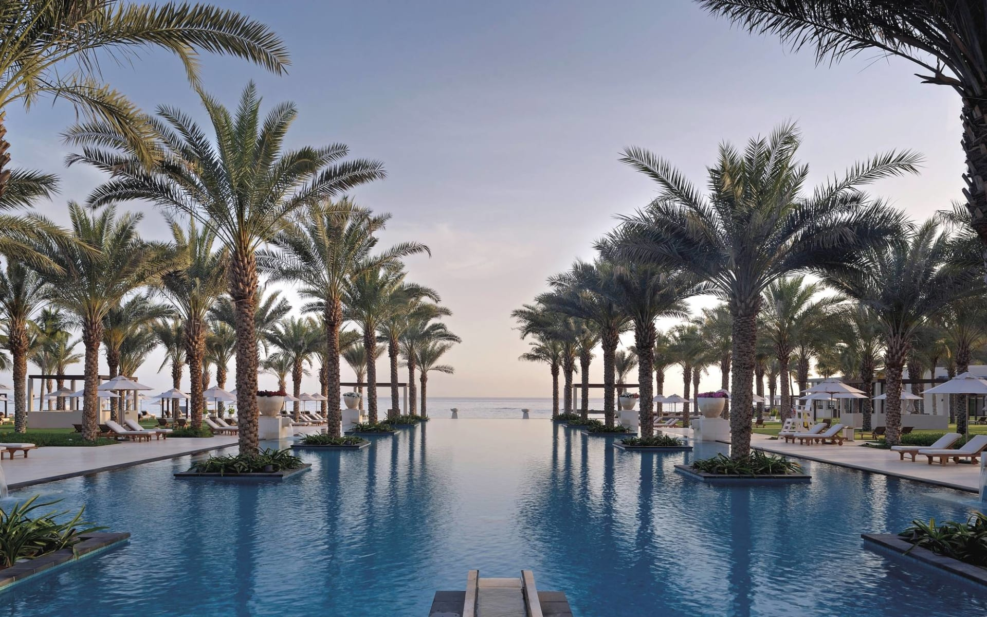 Al Bustan Palace, a Ritz-Carlton Hotel in Muscat: Infiniti Adults Pool