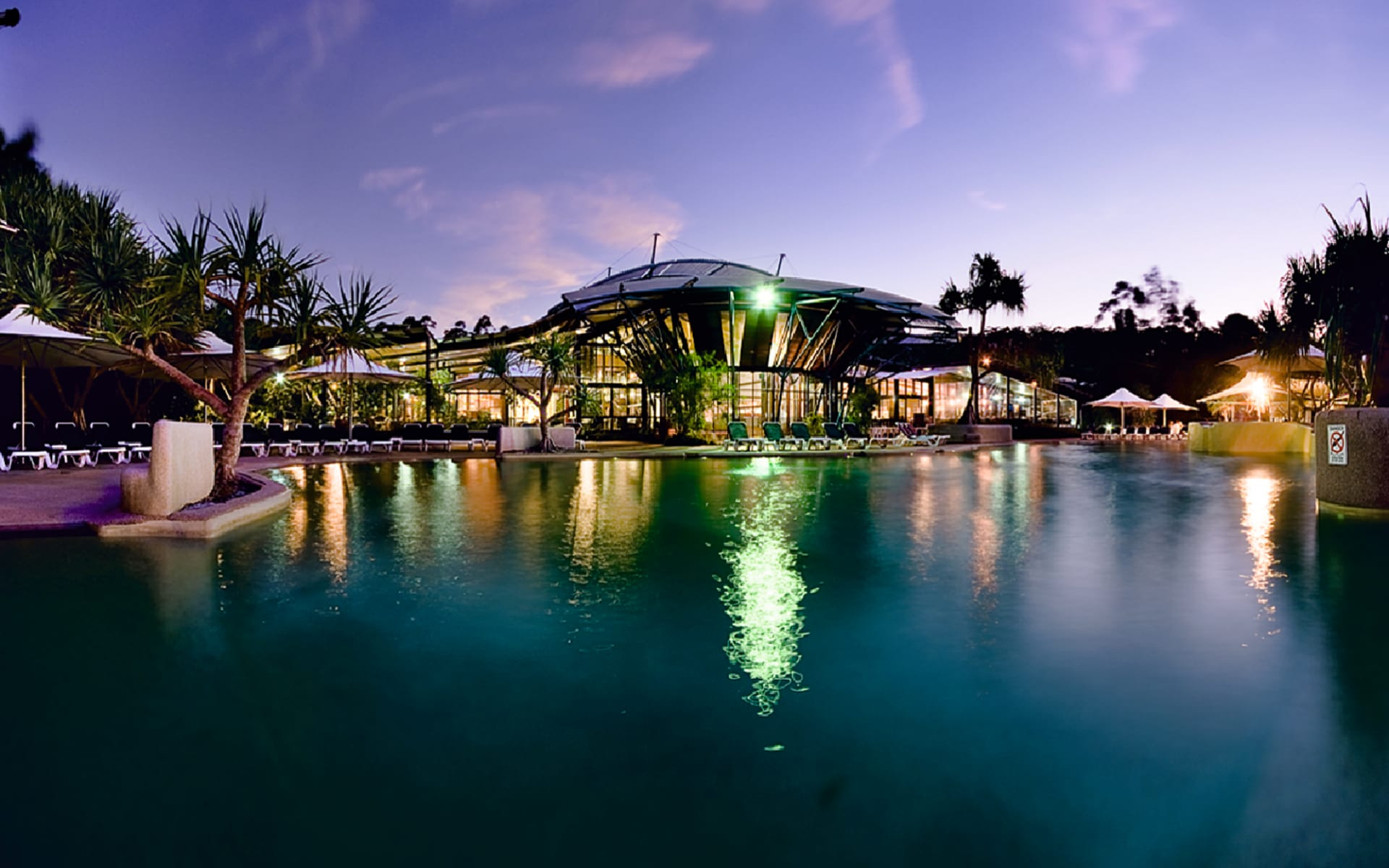 Kingfisher Bay Resort in Fraser Island:  Kingfisher Bay Resort - Overview
