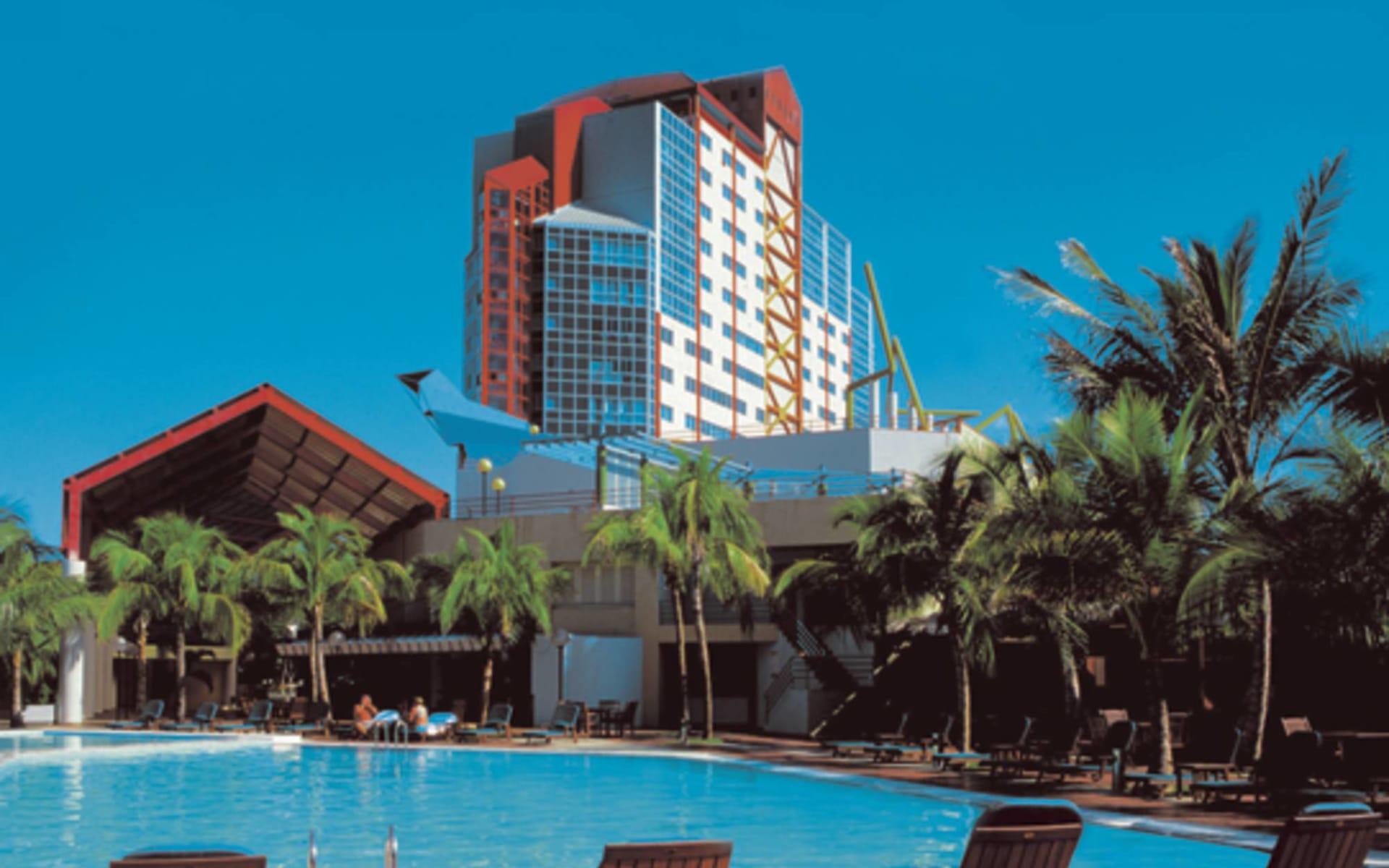 Melia Santiago in Santiago de Cuba: pool melia santiago pool hotel