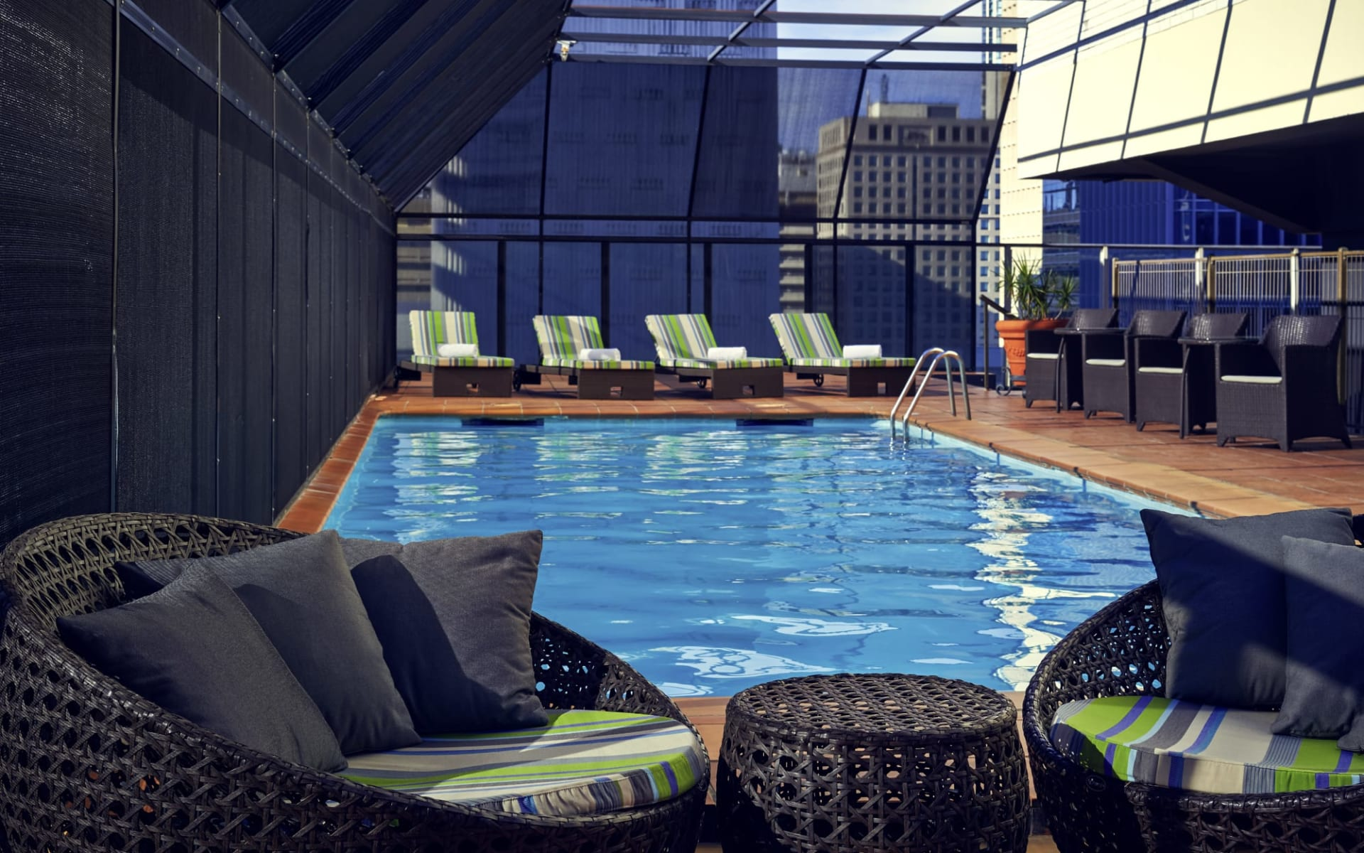 Mercure Brisbane: Pool Mercure Brisbane Pool Anlage