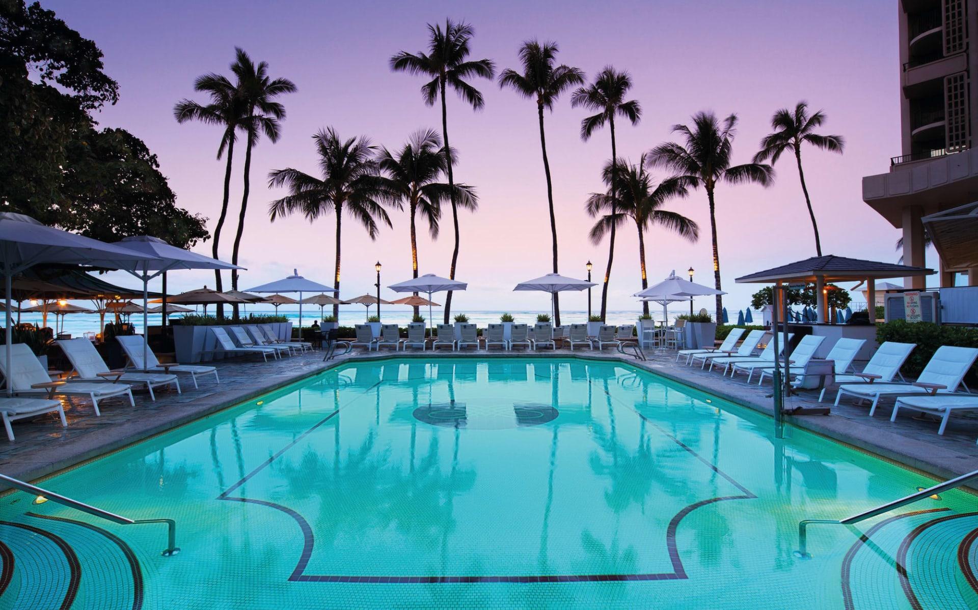 Moana Surfrider, a Westin Resort in Honolulu - Oahu: Moana Surfrider, a Westin Resort - Poolanlage