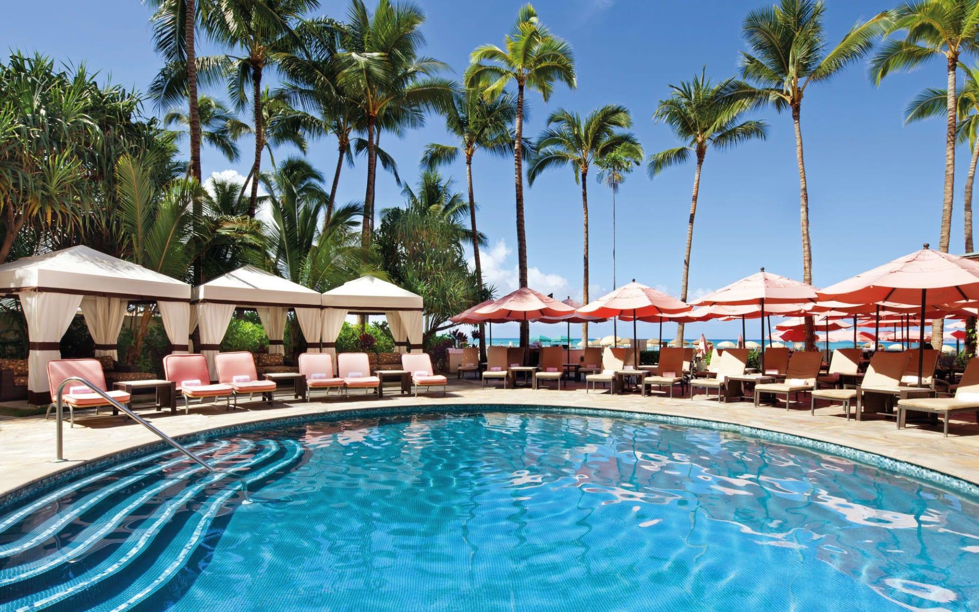 The Royal Hawaiian Resort in Honolulu - Oahu: Royal Hawaiian - Swimmingpool