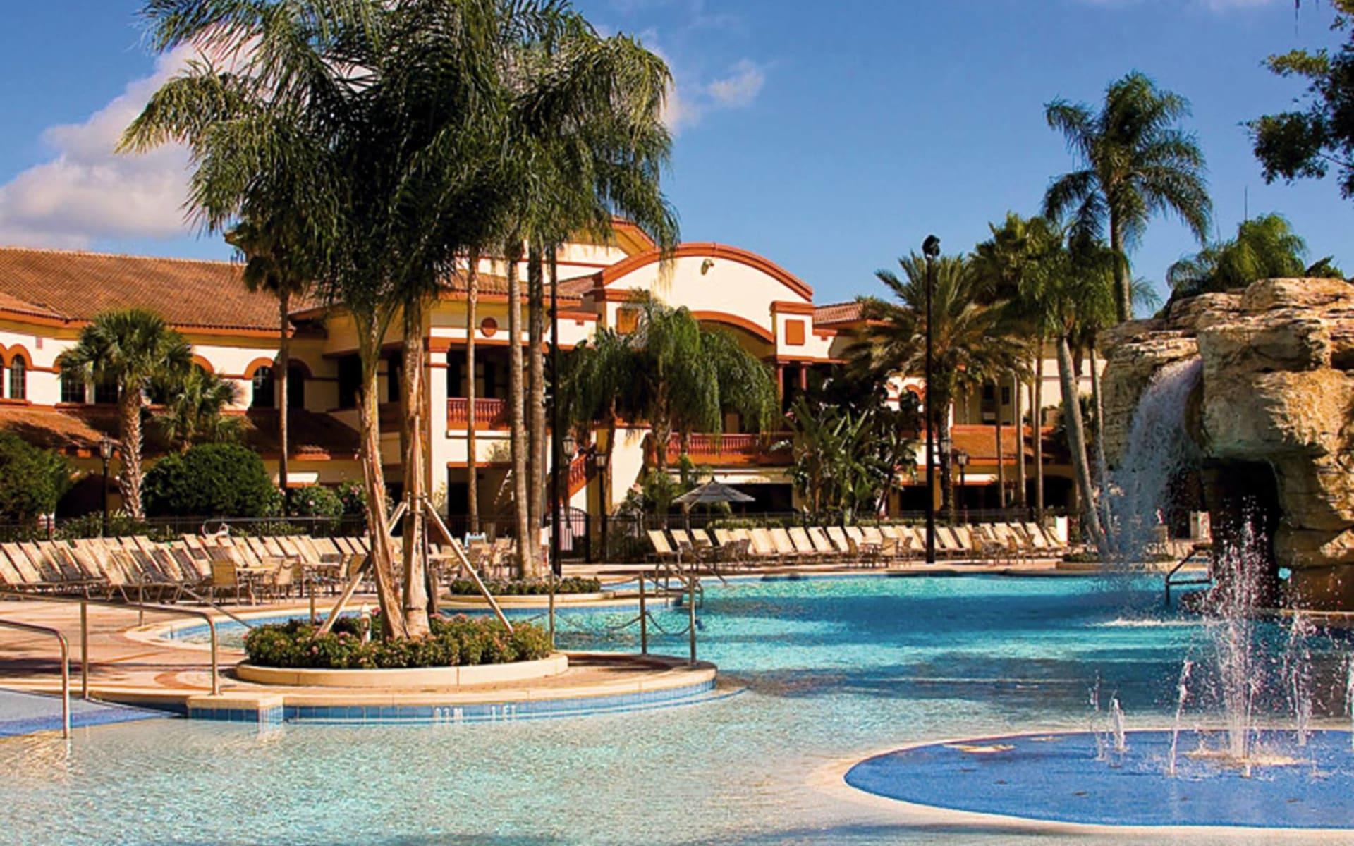 Sheraton Vistana Villages in Orlando: pool sheraton vistana villages gartenanlage