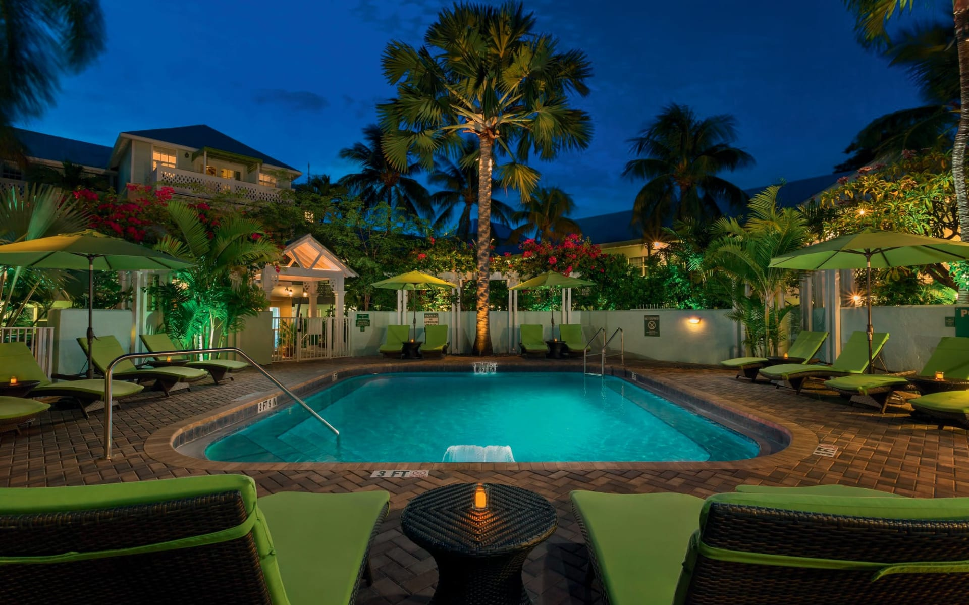 Southernmost Beach Resort in Key West: pool southernmost hotel key west pool und garten