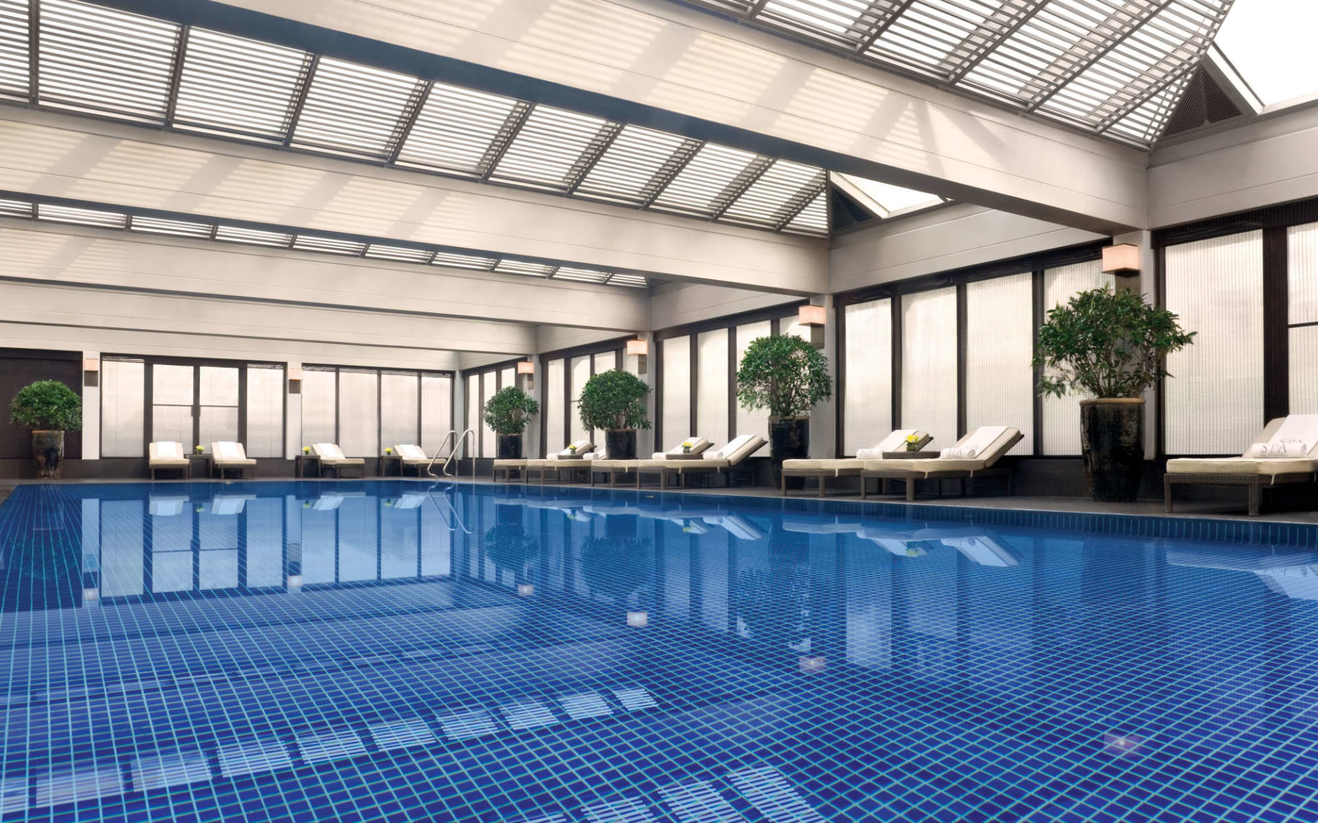 The Peninsula in Peking: Swimming Pool