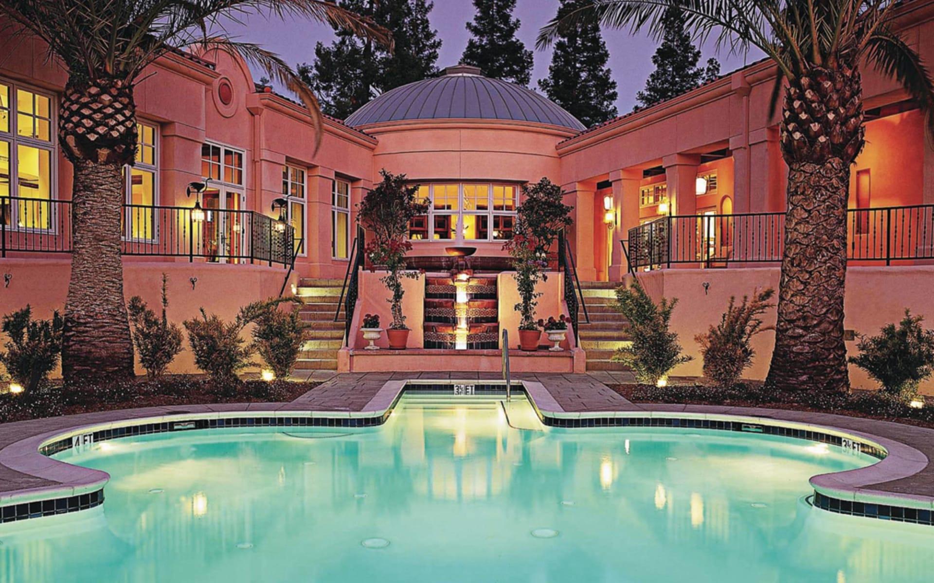 The Fairmont Sonoma Mission Inn & Spa in Sonoma Valley: pool the fairmont sanoma mission inn hotelansicht pool palmen