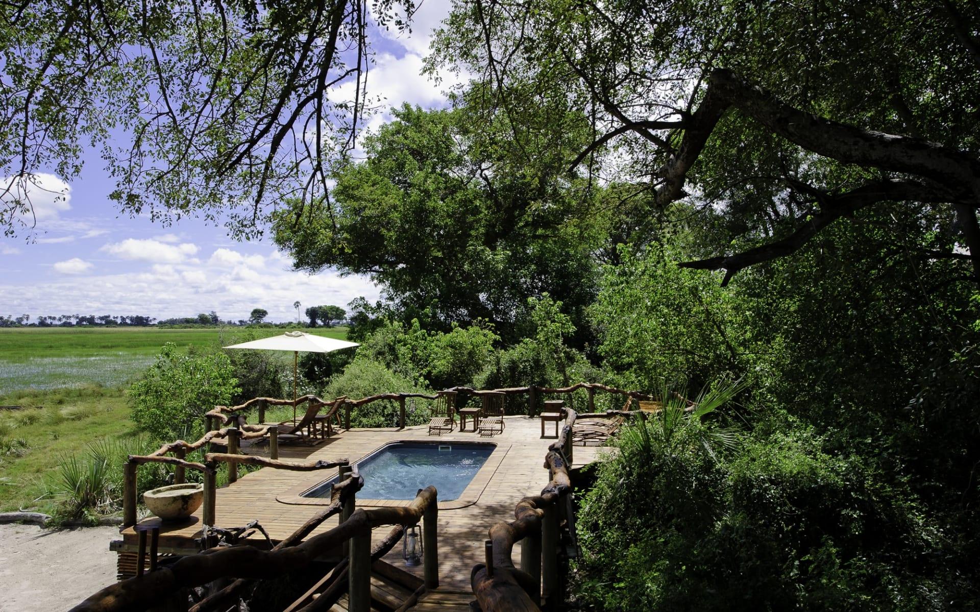 Tubu Tree Camp in Okavango Delta: Tubu Tree Camp