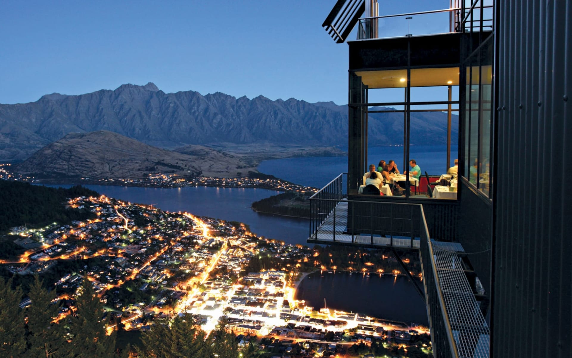 Neuseeland entdecken (Christchurch - Queenstown) (AAT Kings): Queenstown - Bobs Peak