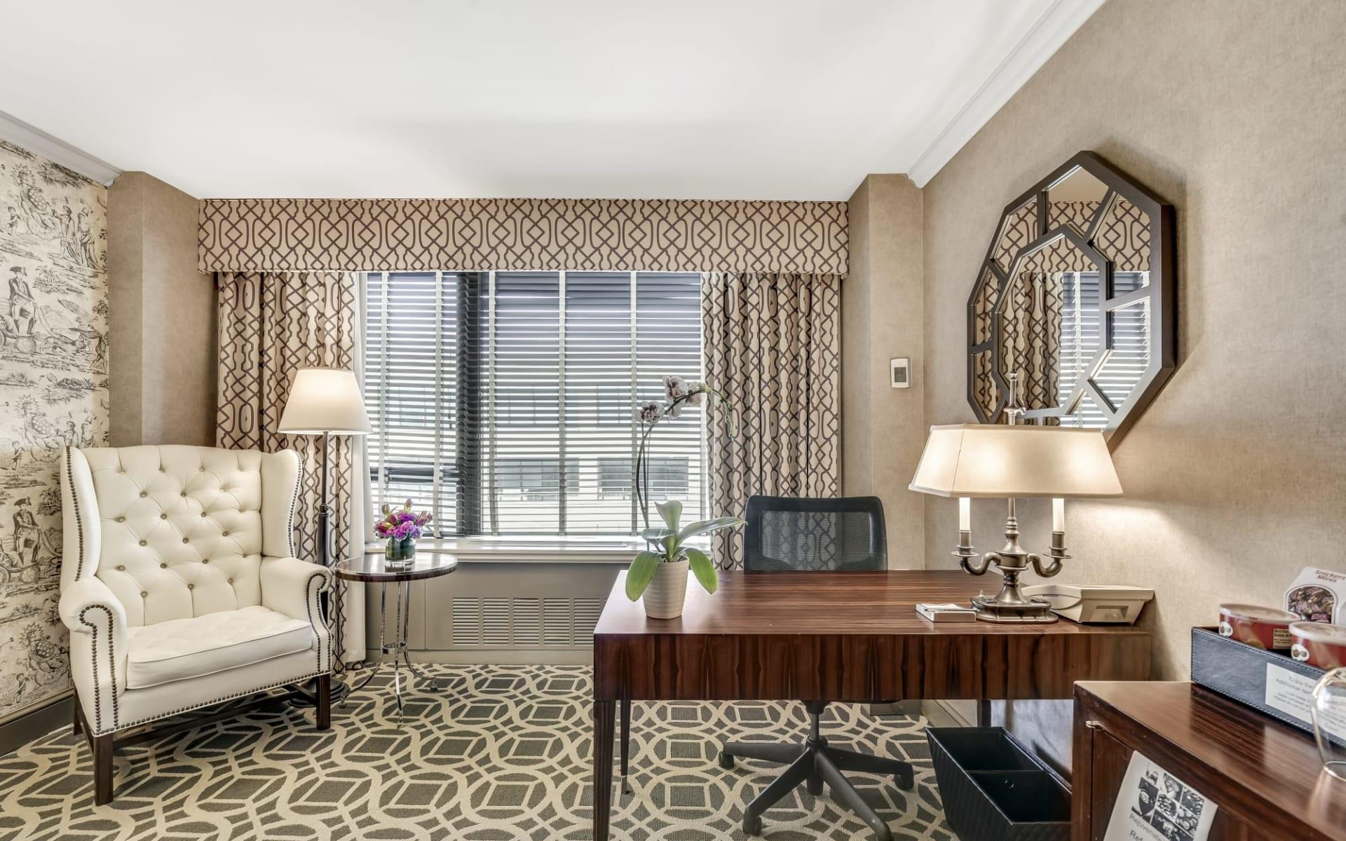 The Madison Washington DC a Hilton Hotel in Washington D.C.:  1 King View 5