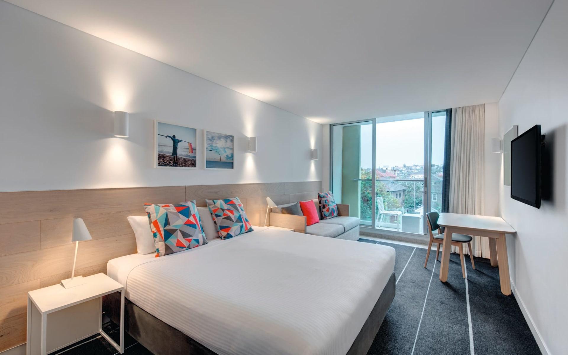 Adina Apartment Hotel Bondi Beach in Sydney - Bondi Beach: Adina Apartment Hotel Bondi Beach - Studio 2017
