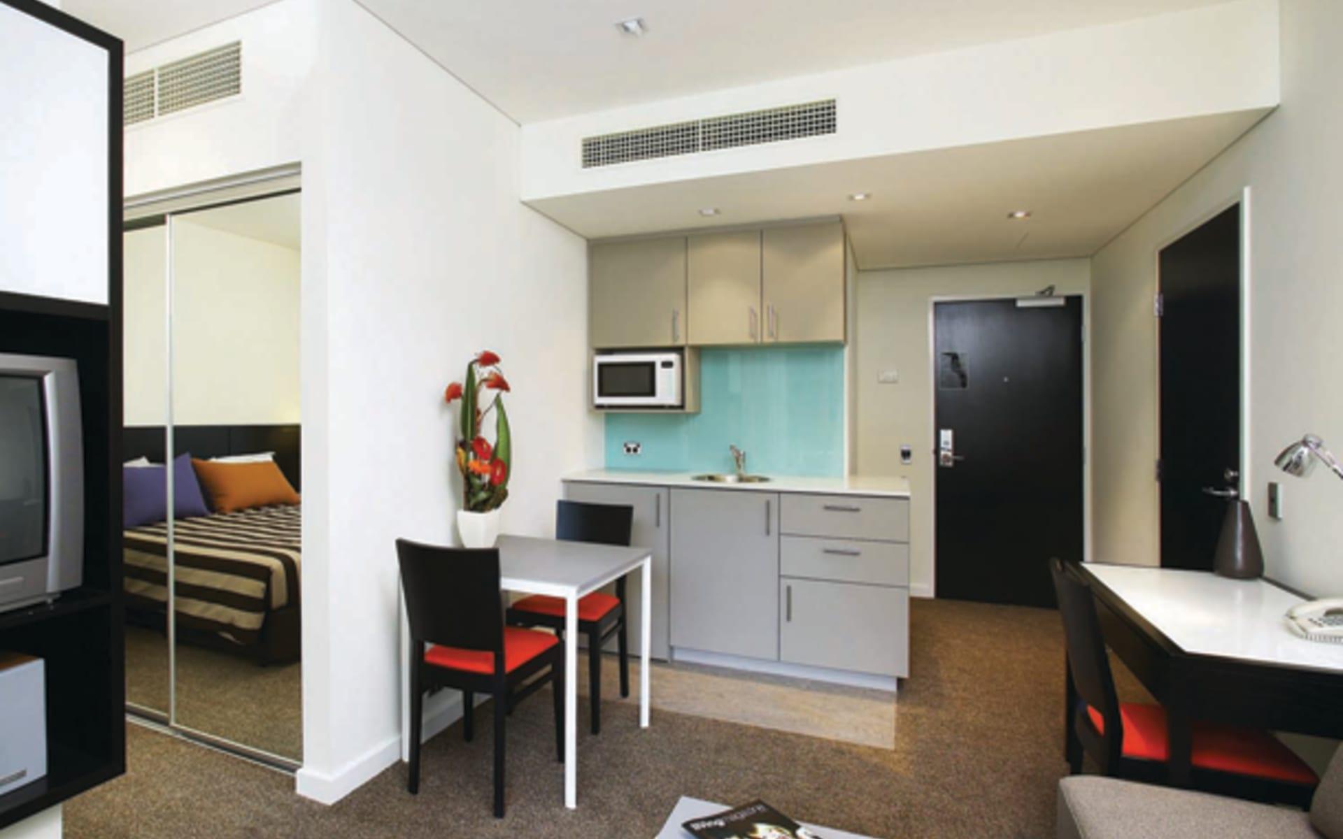 Adina Apartment Hotel Perth:  Adina Apartment Hotel Perth - 1-Bedroom Premier Apartment
