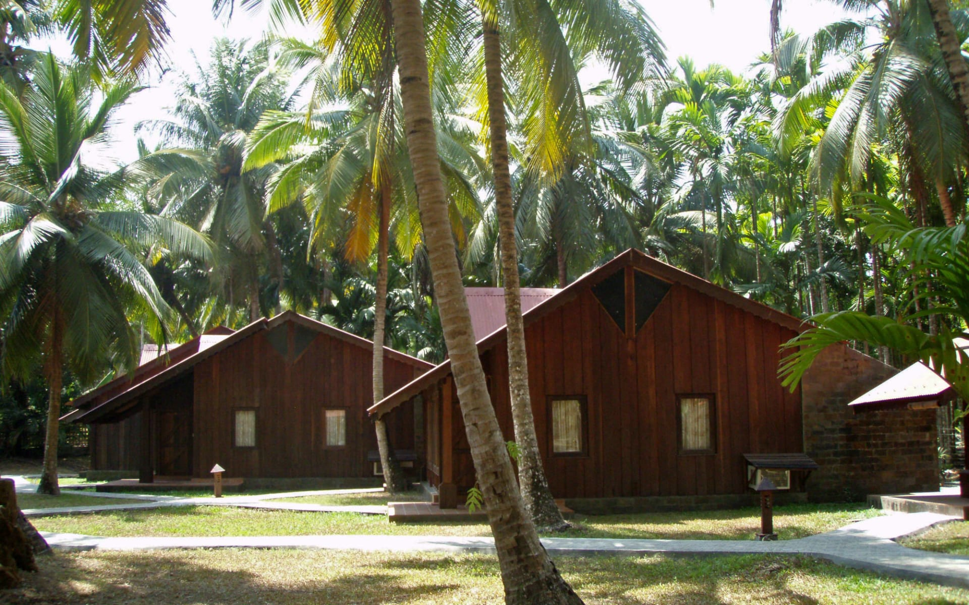 Silversand Beach Resort in Andamanen: Andaman Cottage (Garden Facing)