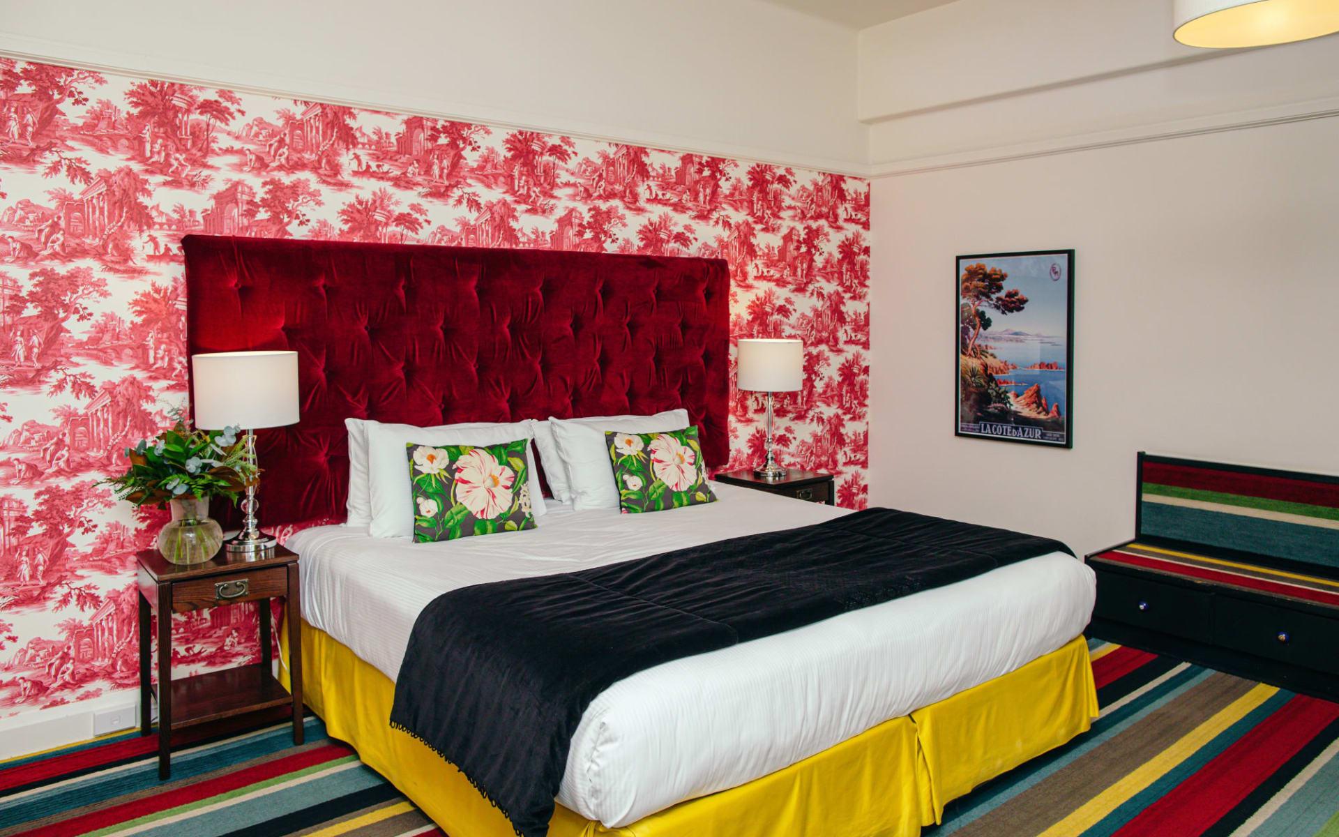 Art Deco Masonic Hotel in Napier:  Art-Deco-Studio-#1-Art-Deco-Masonic-Hotel-Rooms-May-2019-2