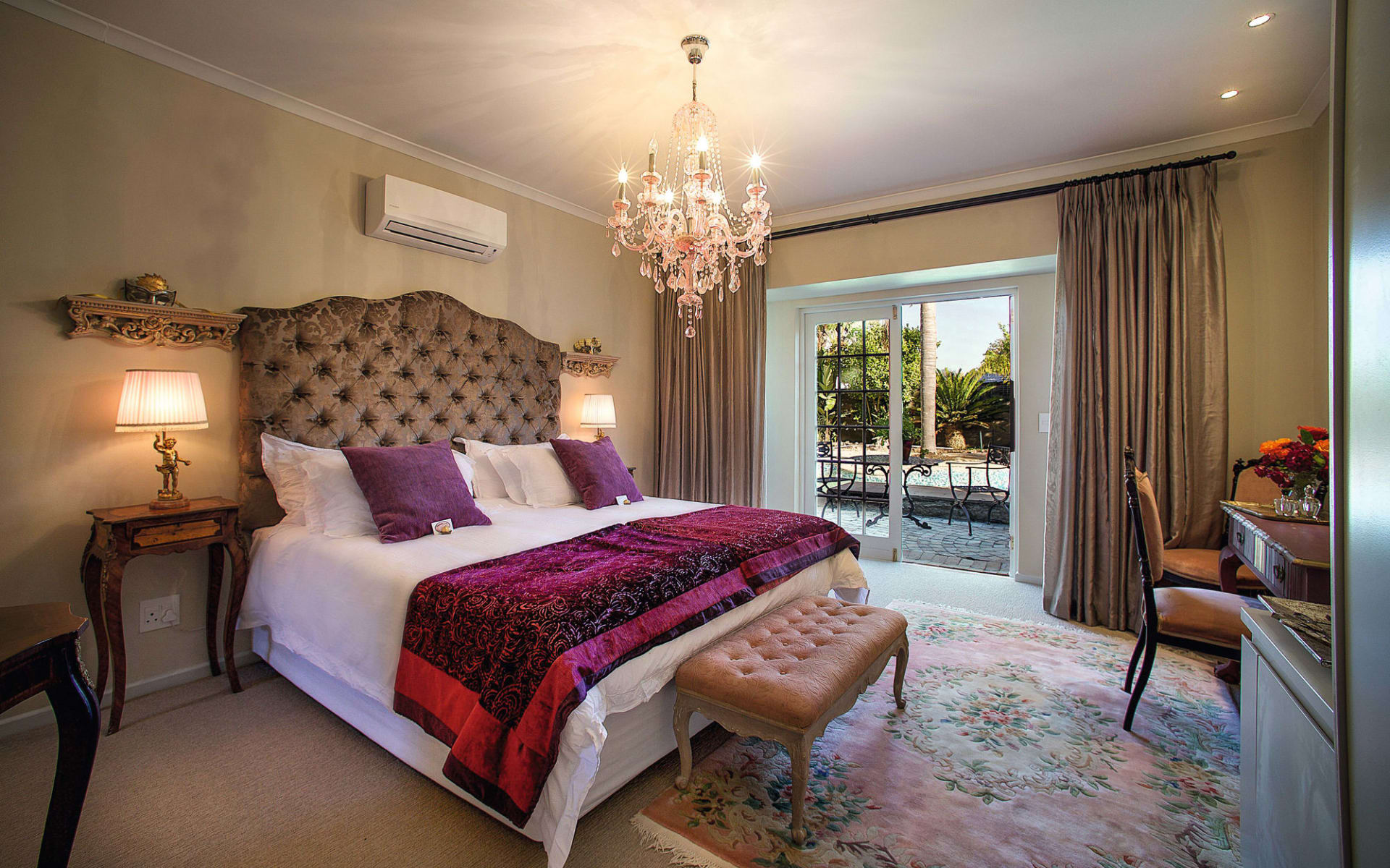 Baruch Guesthouse in Stellenbosch:  Baruch Guesthouse - Deluxe Zimmer