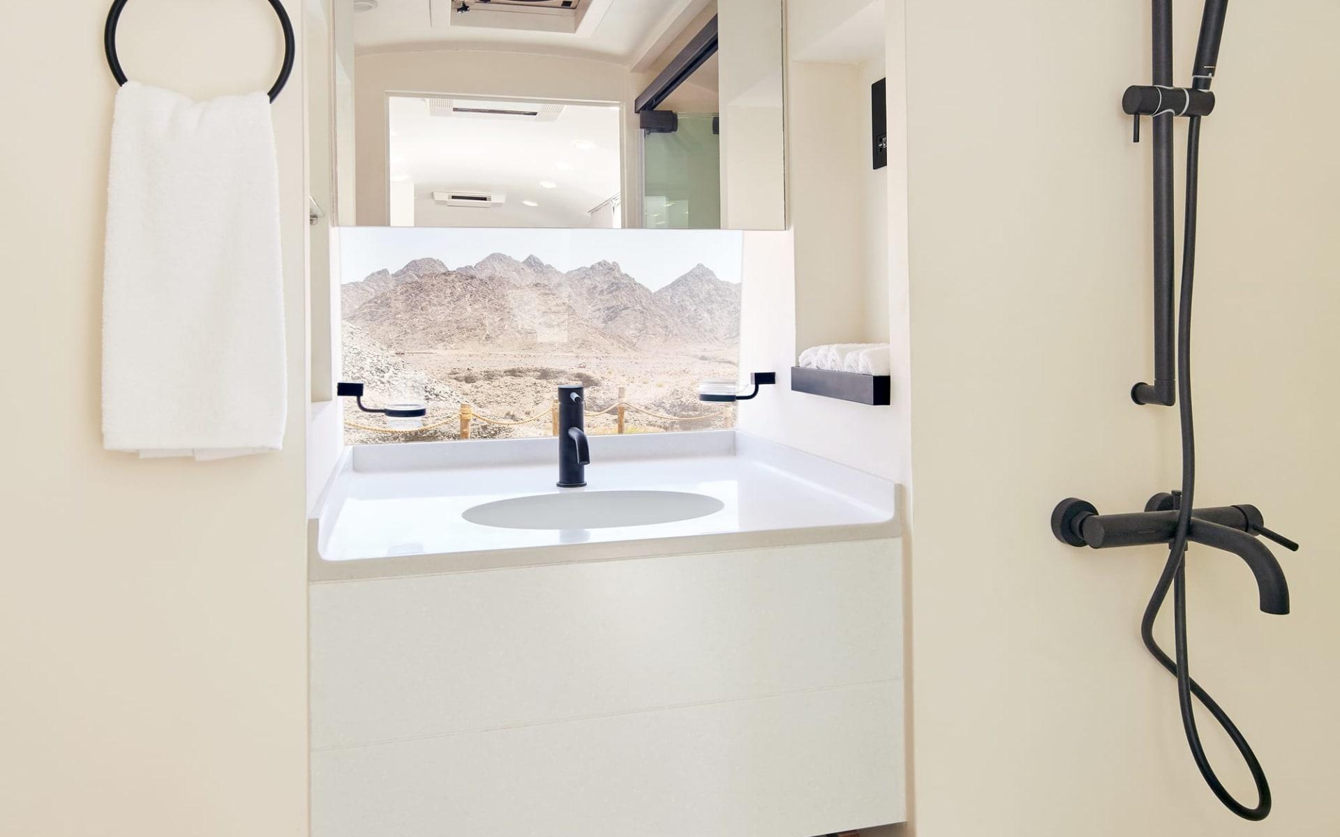 Sedr Trailers Resort in Hatta:  Bathroom