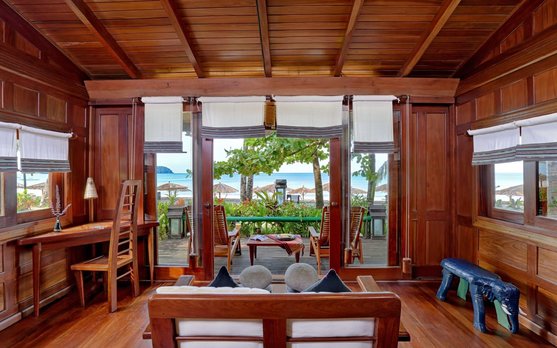 Sandoway Resort in Ngapali: Beachfront Cottage