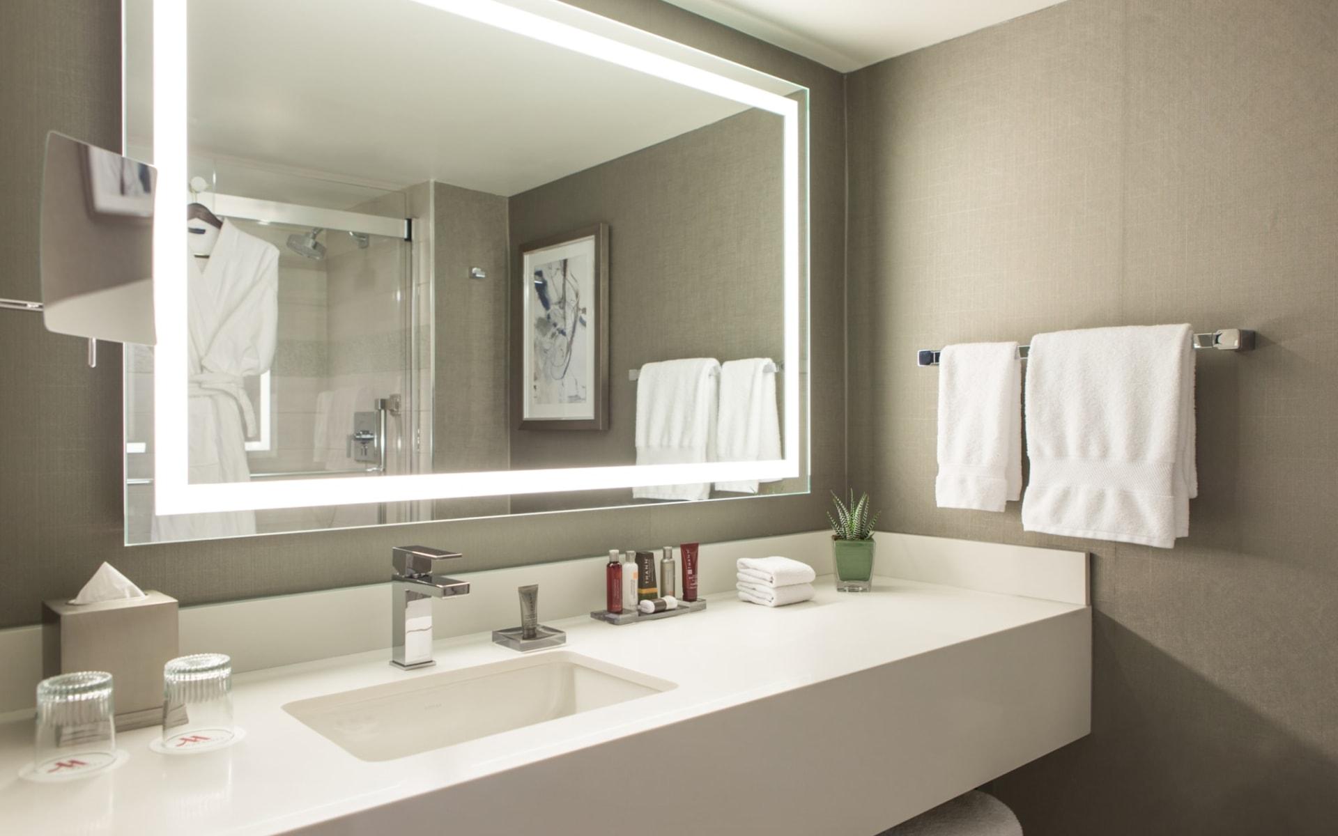 Calgary Marriott Hotel:  Calgary Marriott Hotel_Bathroom