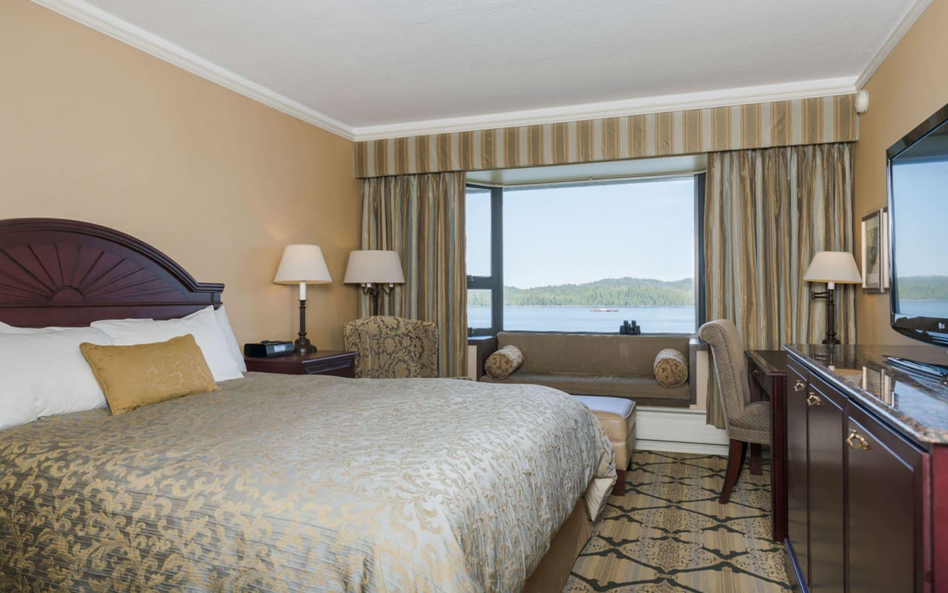 Prestige Hotel Prince Rupert:  Crest Hotel_CrestClassHarbourViewRoom(Standard)