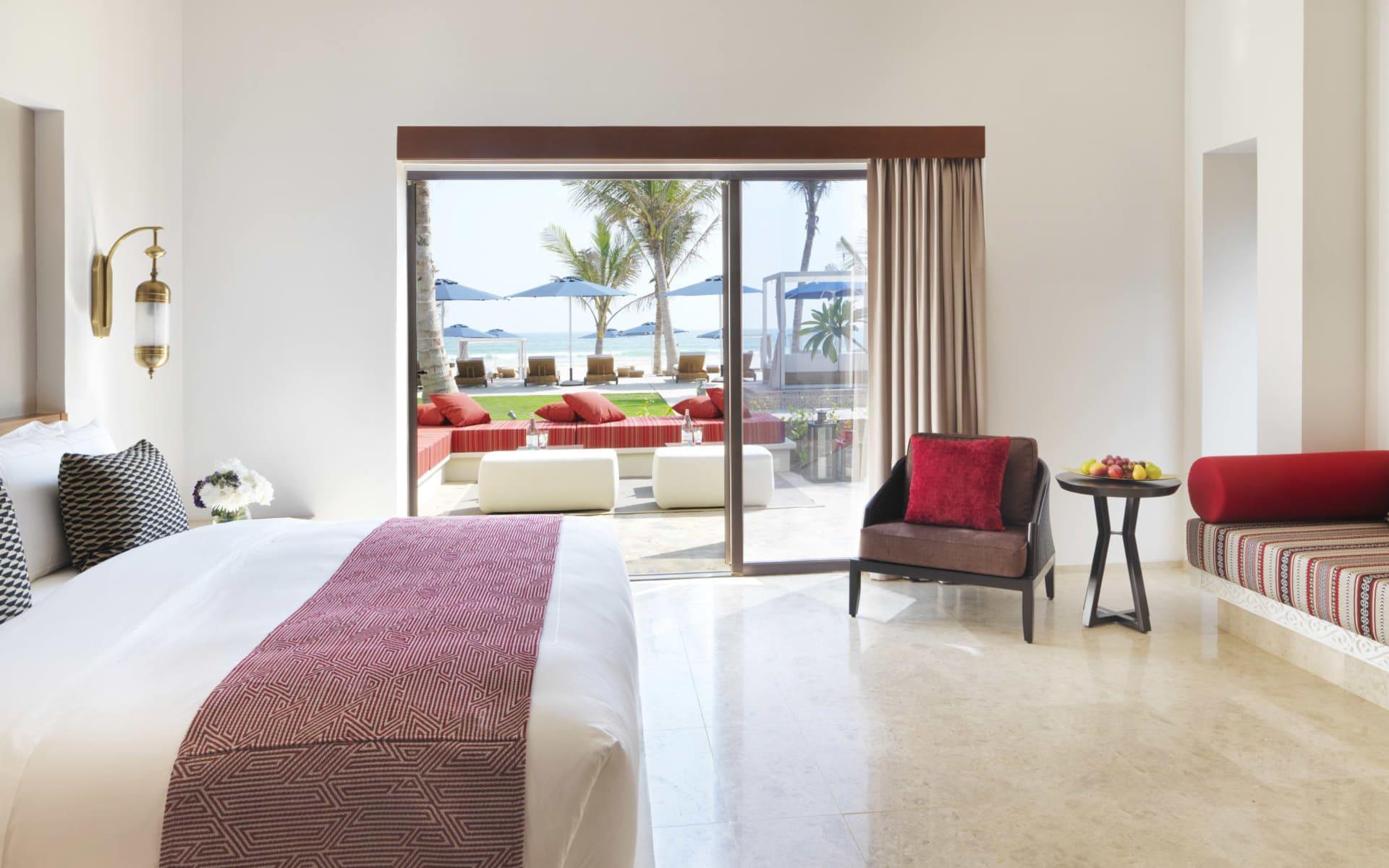 Al Baleed Resort Salalah by Anantara:  Deluxe Beach View
