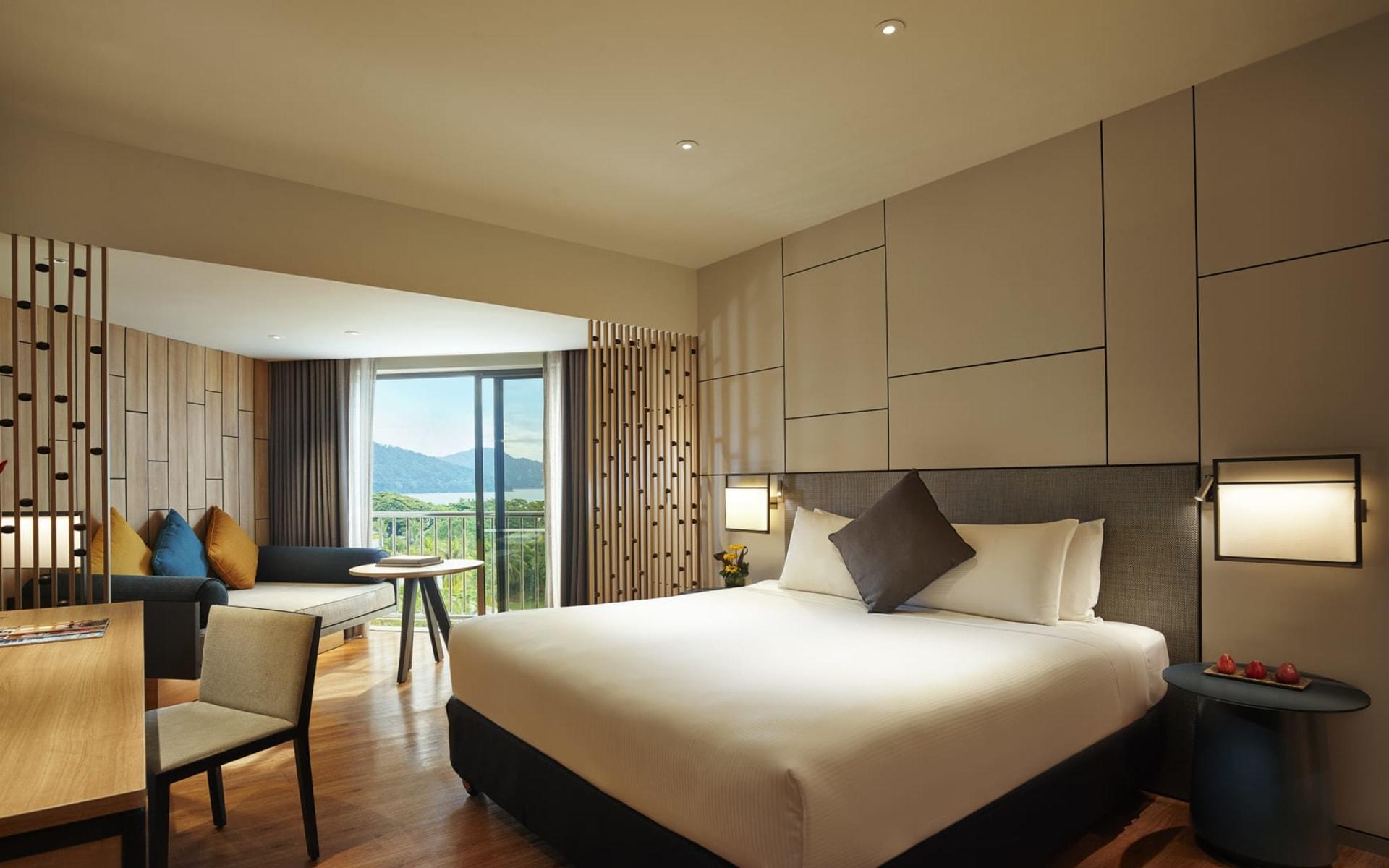 Parkroyal Penang Resort: Deluxe Sea Facing