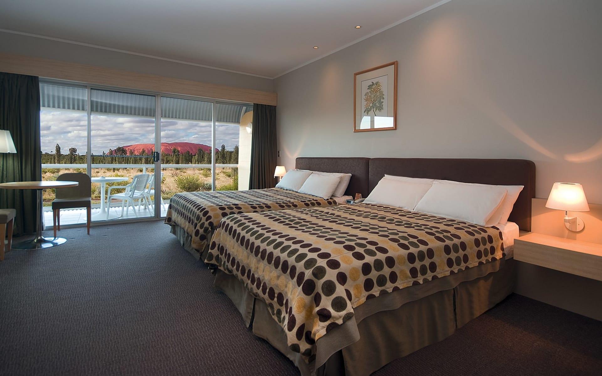 Desert Gardens Hotel in Ayers Rock - Yulara:  Desert Gardens Hotel - Deluxe Rock View
