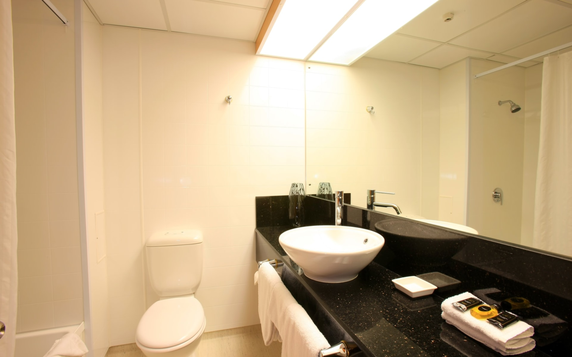 Distinction Luxmore in Te Anau:  DH-Luxmore-Deluxe-Hotel-Room-Bathroom-R16212